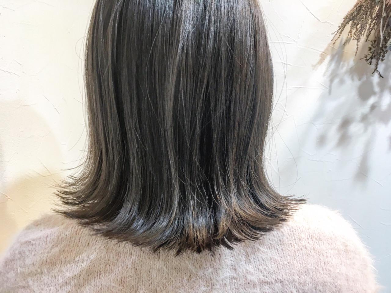 ナチュラル グレージュ 色気 こなれ感 ヘアスタイルや髪型の写真・画像 | 廣長 毅 / Lull/ vampdiva