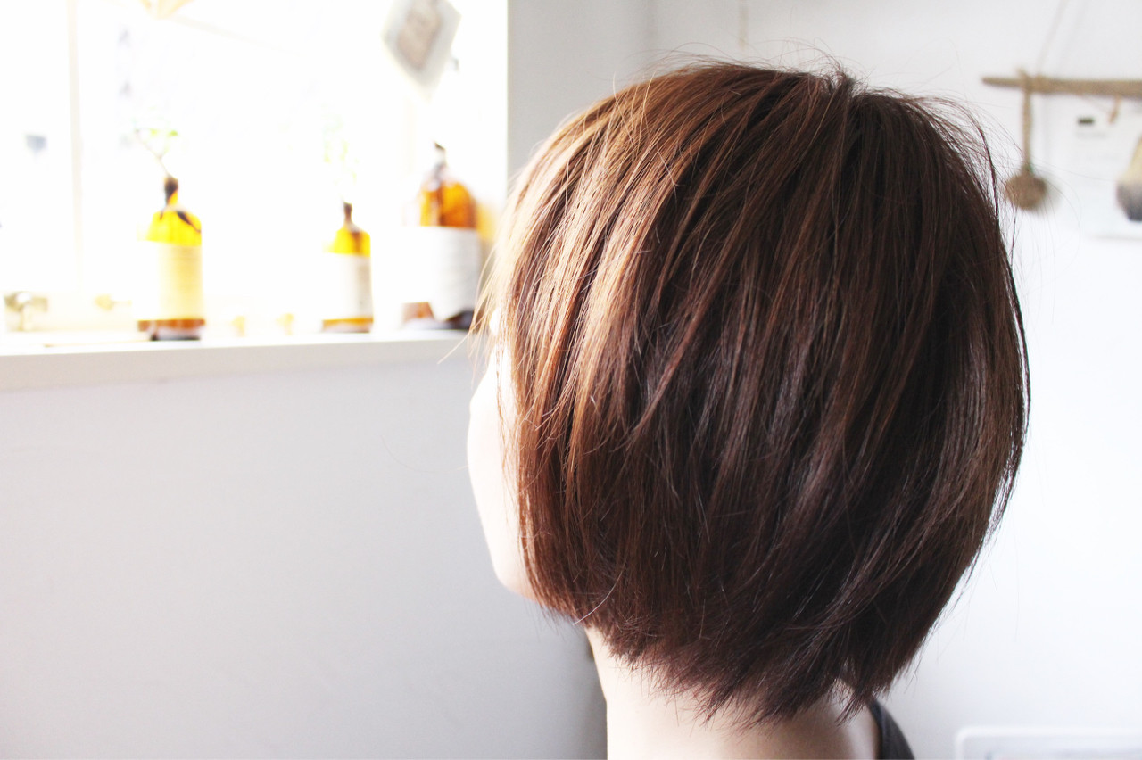 モーブ 色気 グレージュ 外国人風 ヘアスタイルや髪型の写真・画像