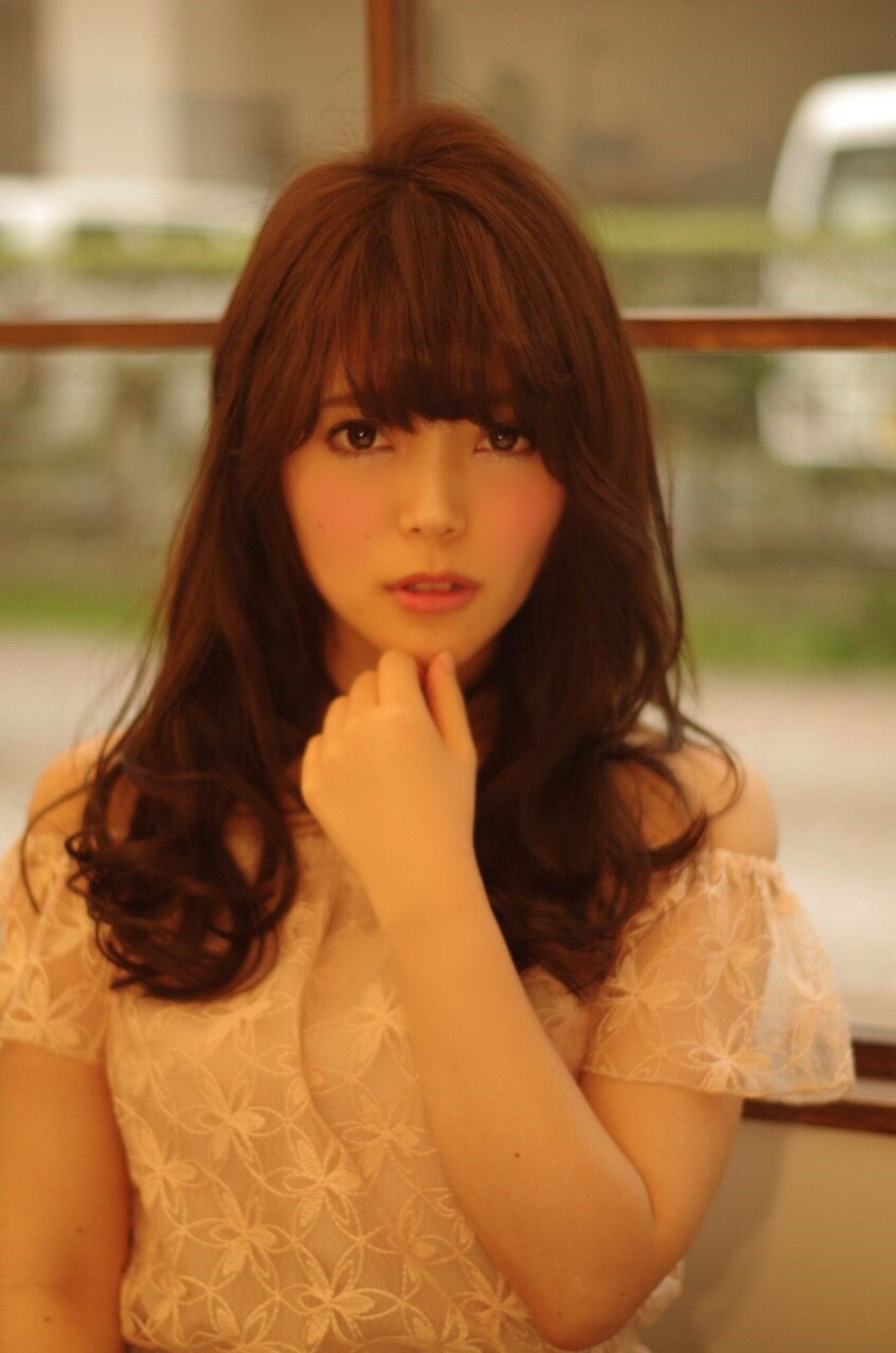 ロング フェミニン ナチュラル モテ髪 ヘアスタイルや髪型の写真・画像 | 山田 あかり /