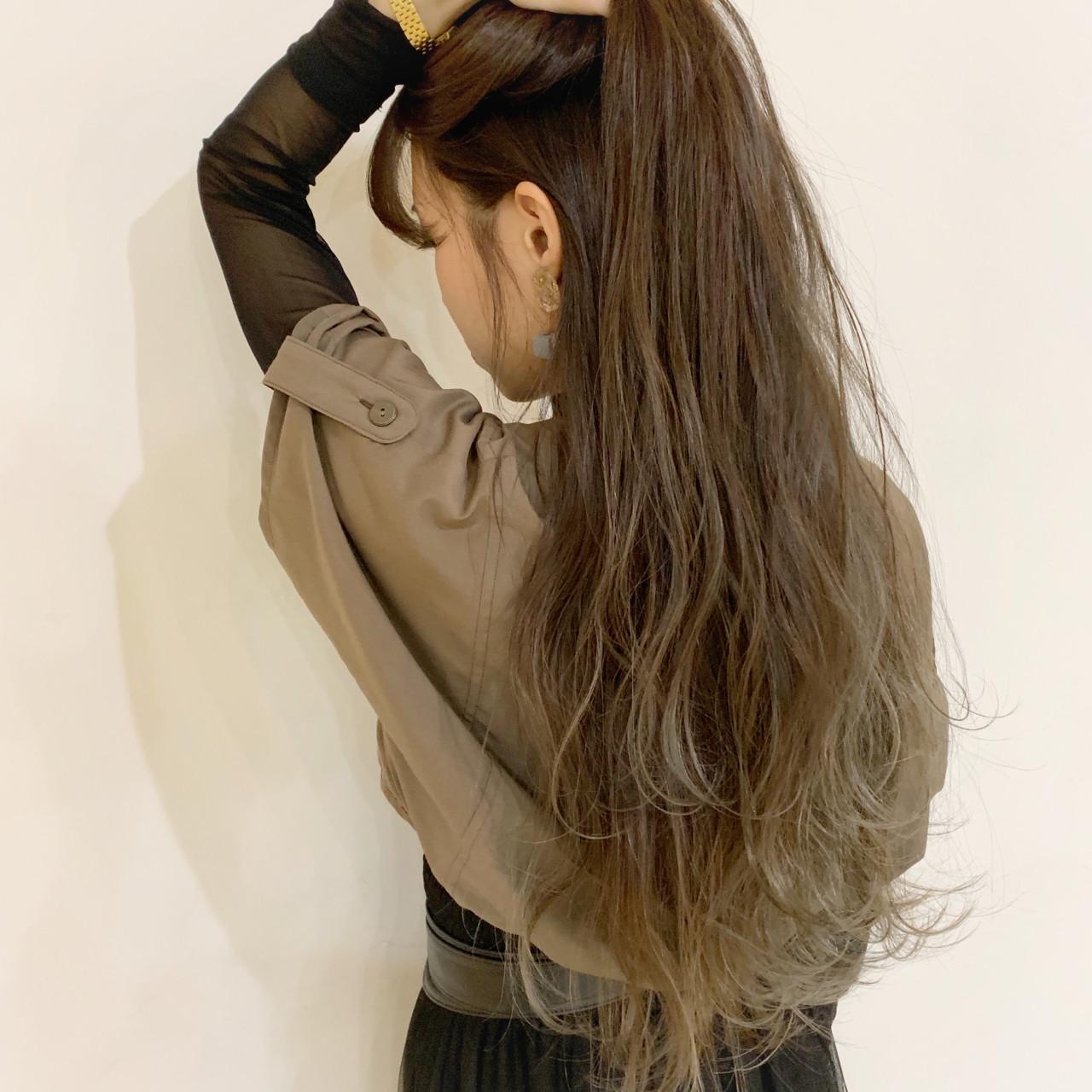 ストリート ウェーブ 外国人風カラー 秋 ヘアスタイルや髪型の写真・画像