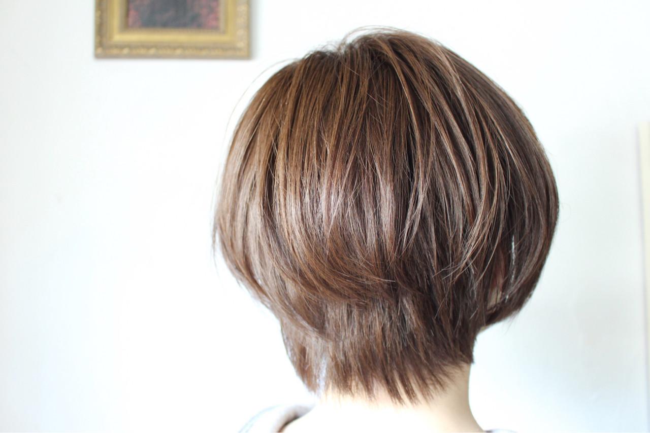 アッシュベージュ ミルクティーベージュ ボブ ベージュ ヘアスタイルや髪型の写真・画像 | creap / creap