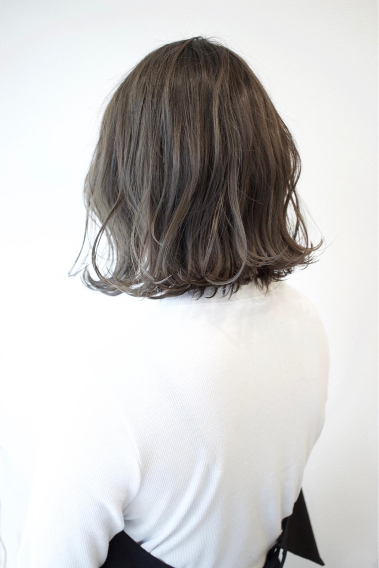 デート こなれ感 外ハネ 外国人風カラー ヘアスタイルや髪型の写真・画像 | Shintaro Kaida / Drawer..