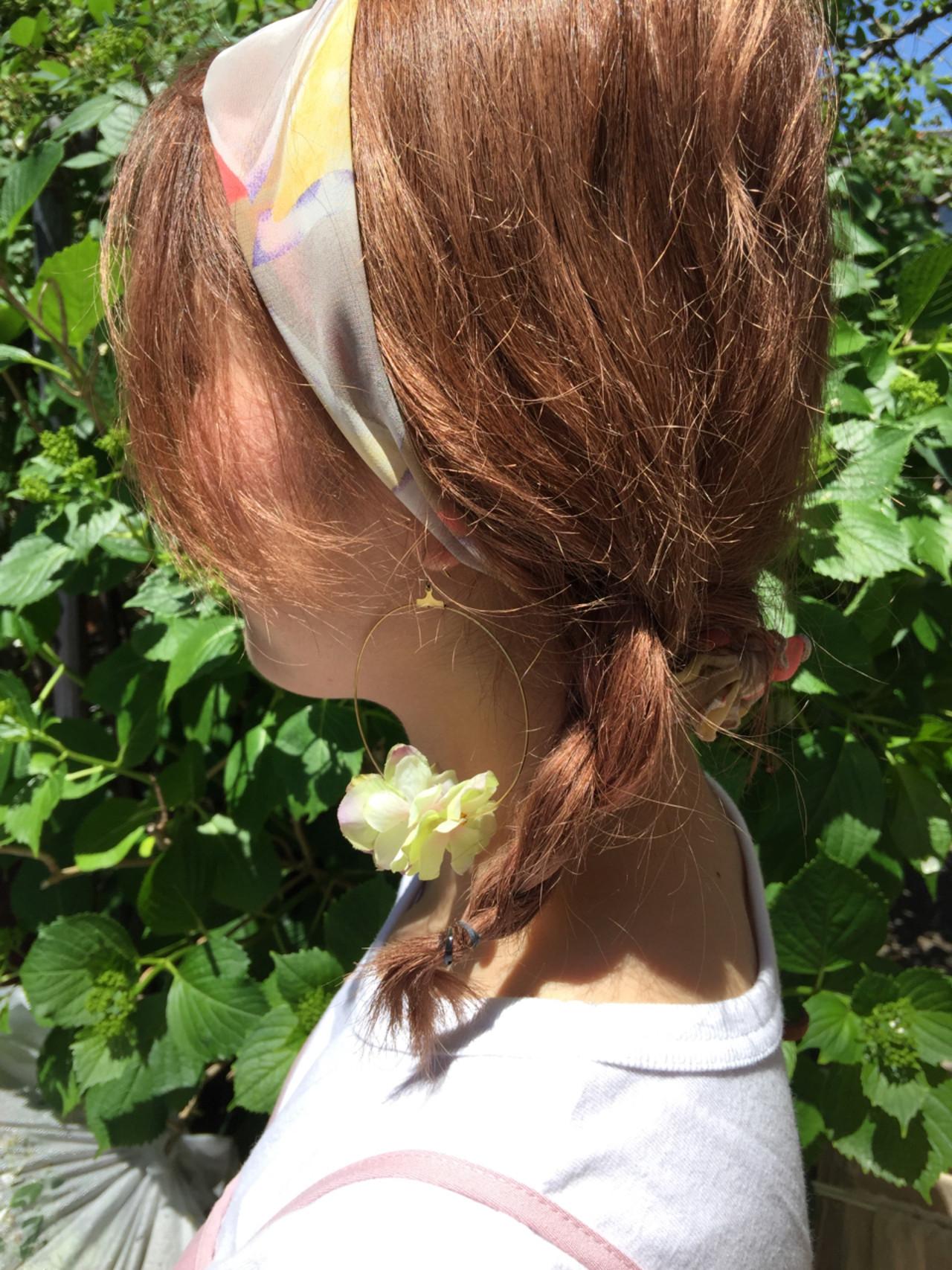 簡単ヘアアレンジ 大人かわいい ミディアム ショート ヘアスタイルや髪型の写真・画像
