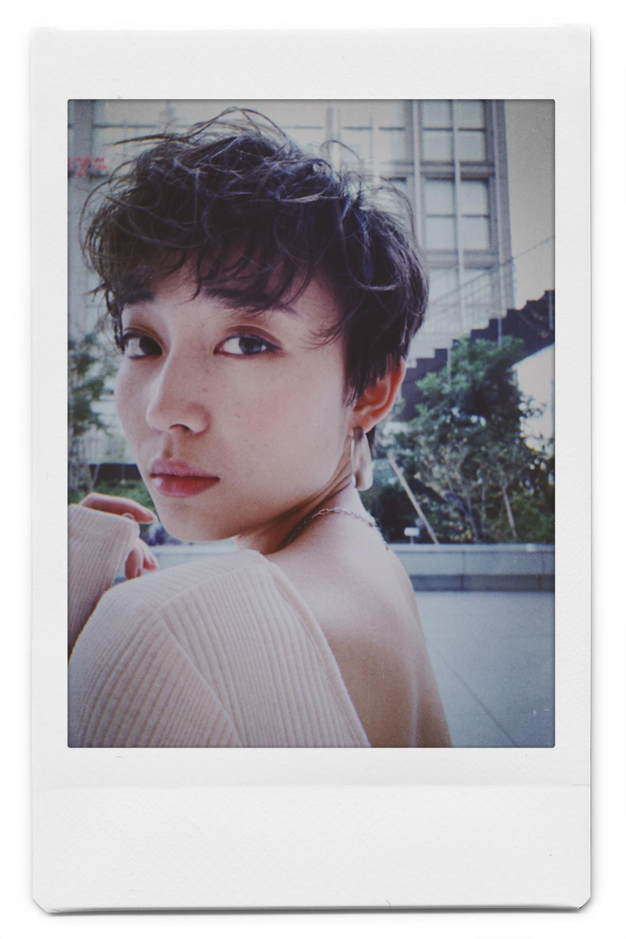ショート パーマ モード ショートヘア ヘアスタイルや髪型の写真・画像 | 阿藤俊也 / PEEK-A-BOO NEWoMan新宿