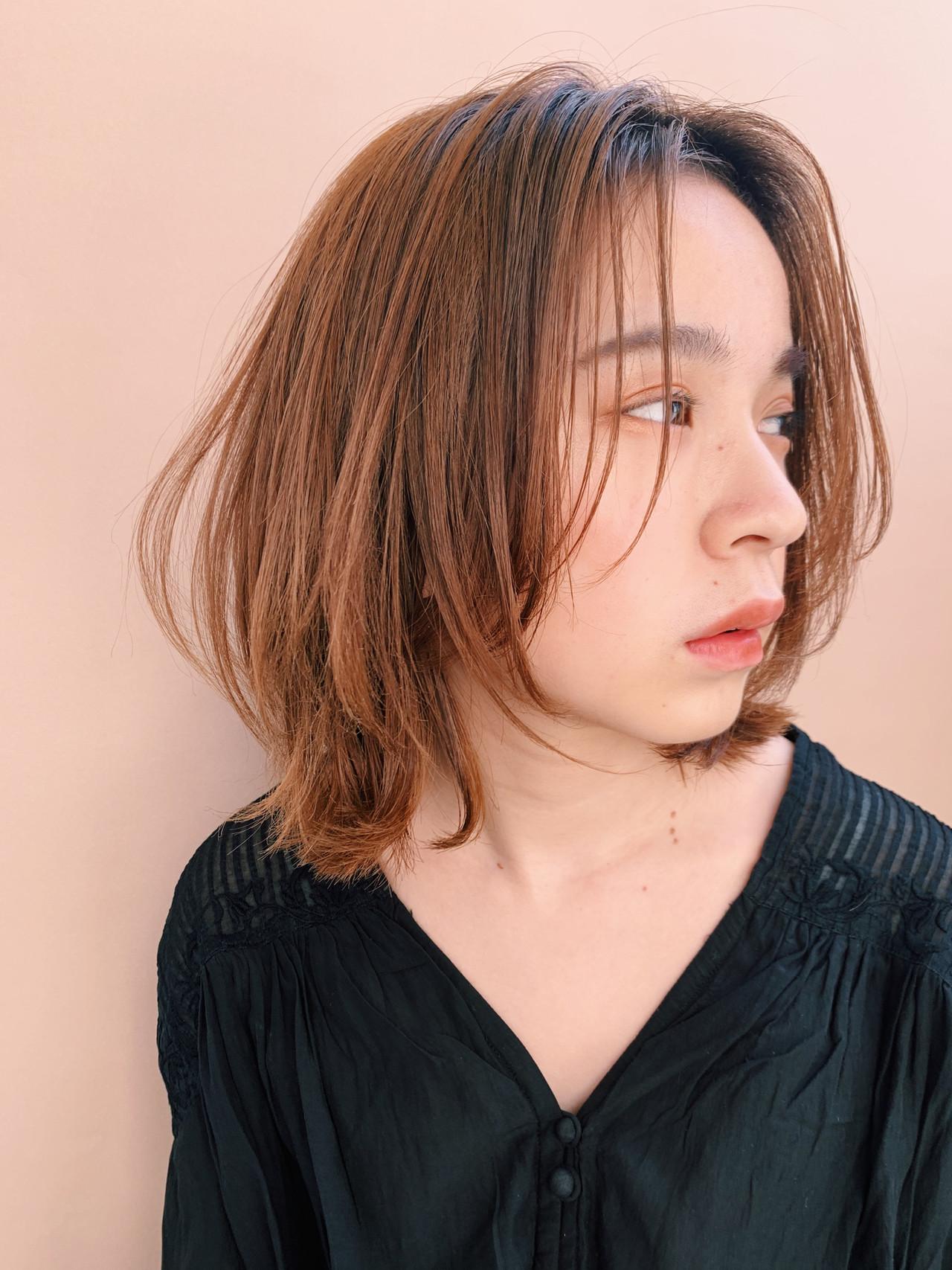 ショートボブ 秋 ショートヘア フェミニン ヘアスタイルや髪型の写真・画像