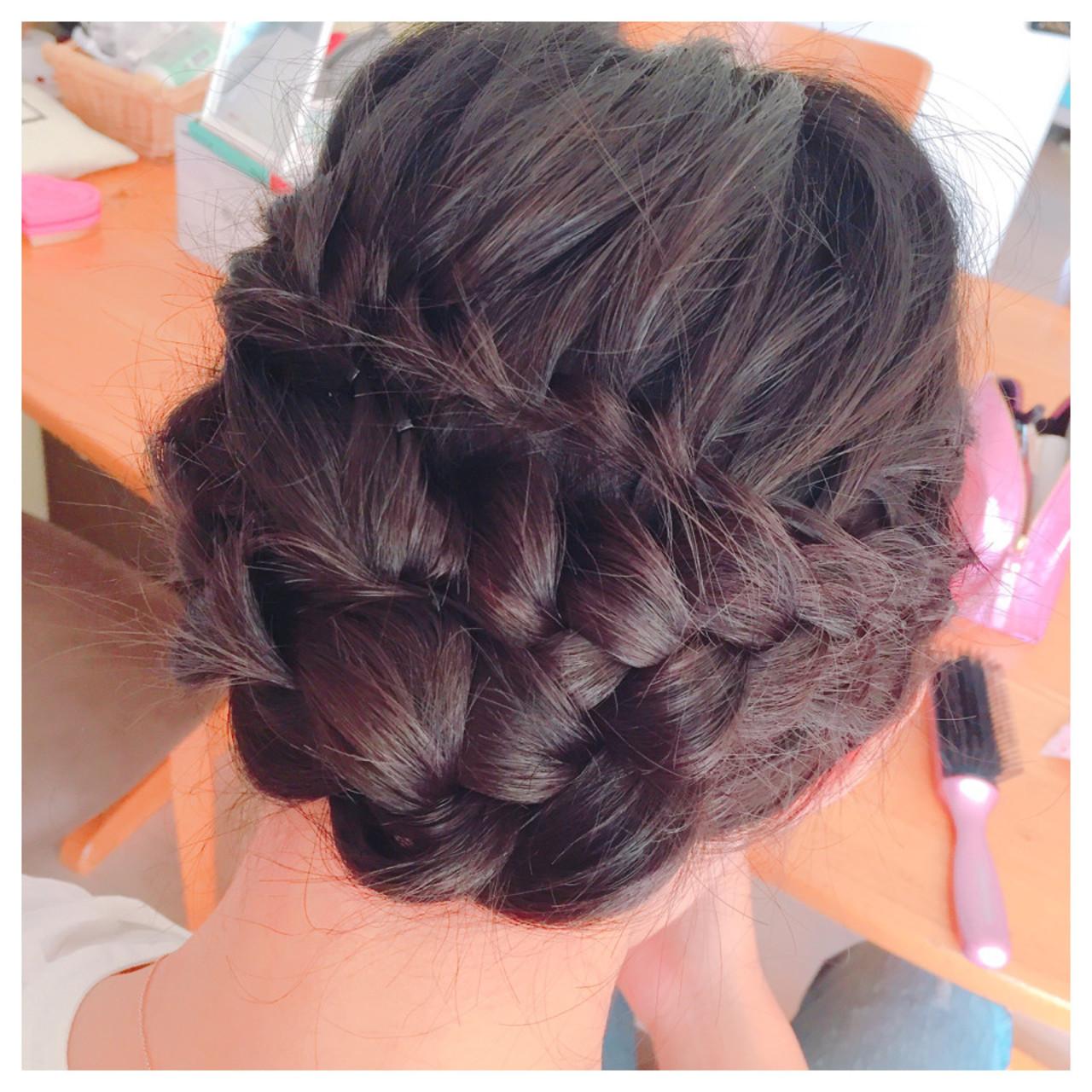 夏 アップスタイル ロング ヘアアレンジ ヘアスタイルや髪型の写真・画像