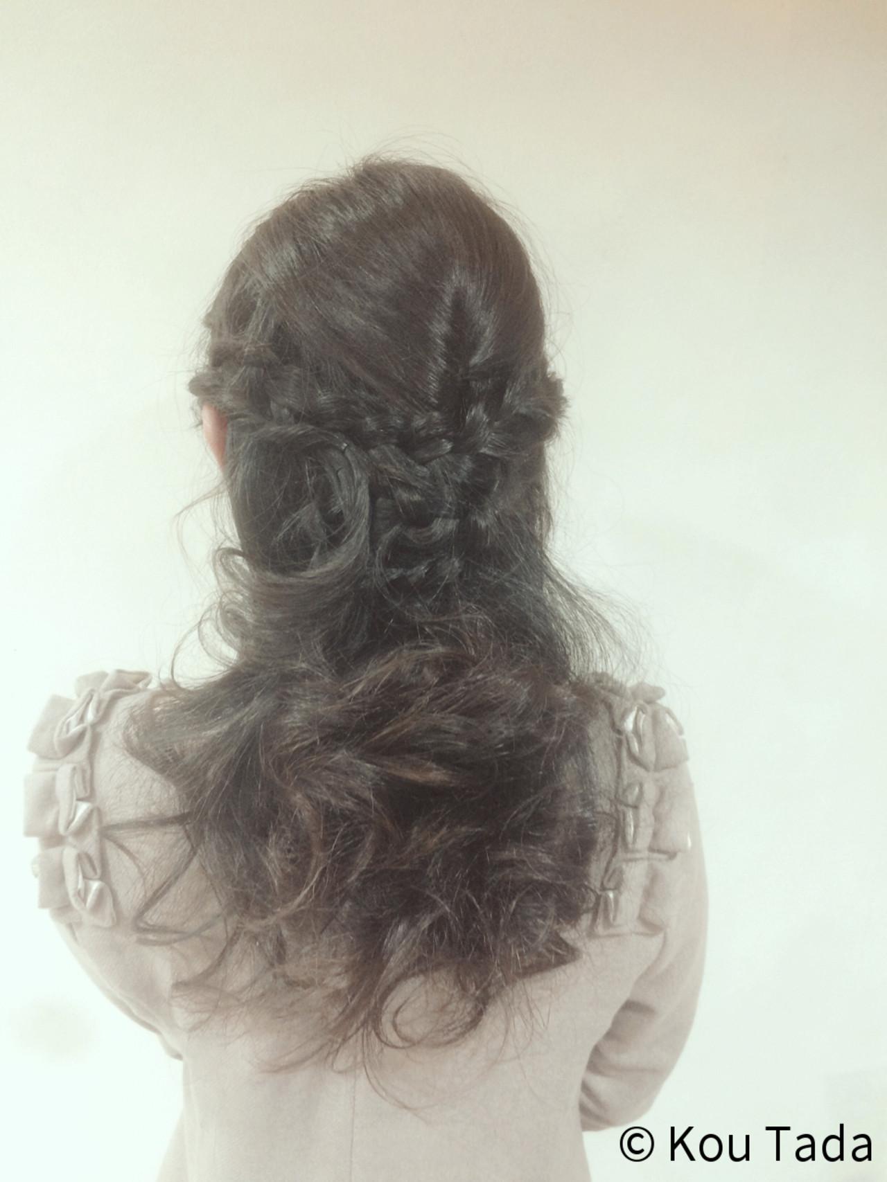パーティ フェミニン 結婚式 ショート ヘアスタイルや髪型の写真・画像   Kou Tada / PLAISIR