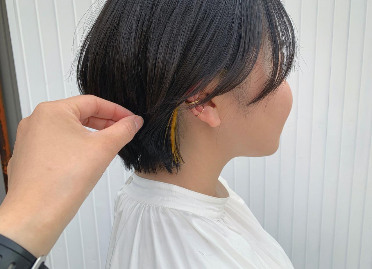 ショート ミニボブ ショートヘア ショートボブ ヘアスタイルや髪型の写真・画像 | 朝木 恵 / muku