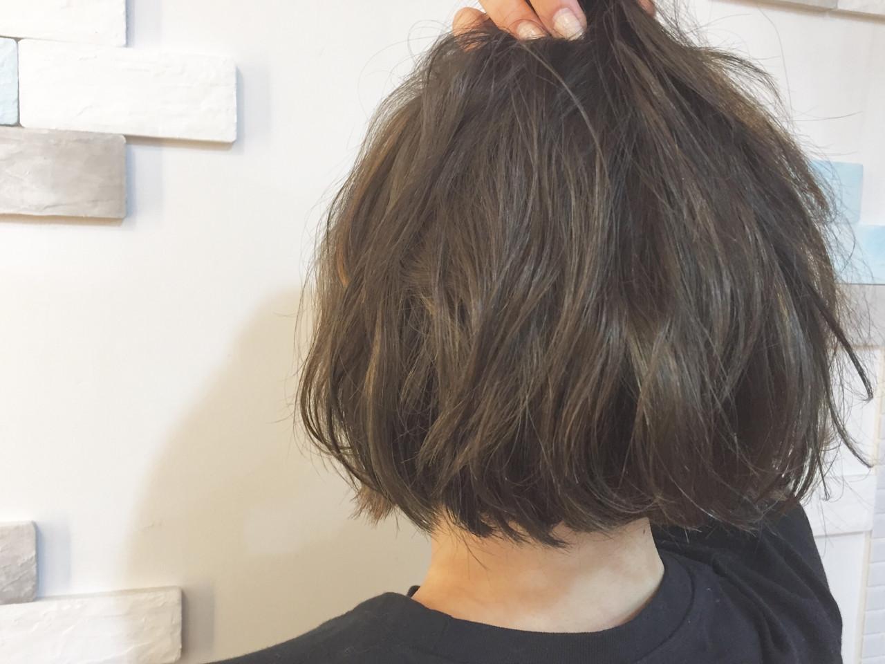 ストリート 外国人風カラー ショートボブ 外ハネ ヘアスタイルや髪型の写真・画像 | Tadashi Mukouyama / Hair Make Blume COSTA