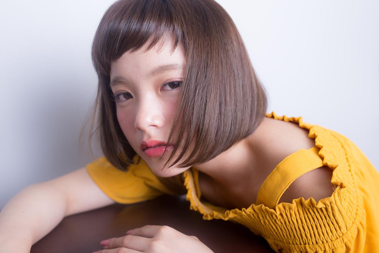 大人可愛いストレートボブ☆  インスタグラムからもスタイル更新しております! (ユーザーネーム→hayatoniwa) お気軽にフォローして下さいね☆  ご予約専用LINE@→@xmu6002u