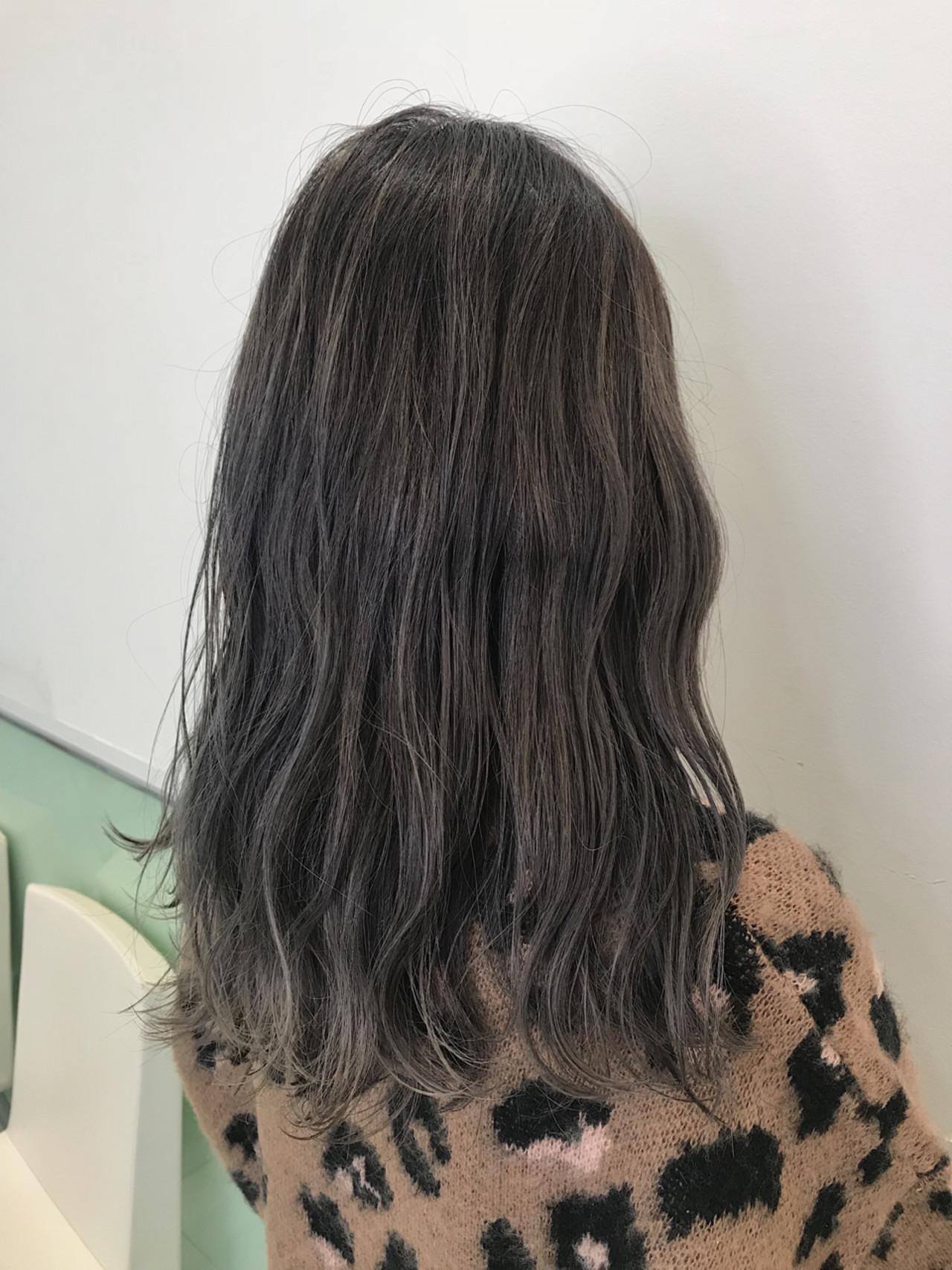 ヘアアレンジ ロング ウェーブ ストリート ヘアスタイルや髪型の写真・画像