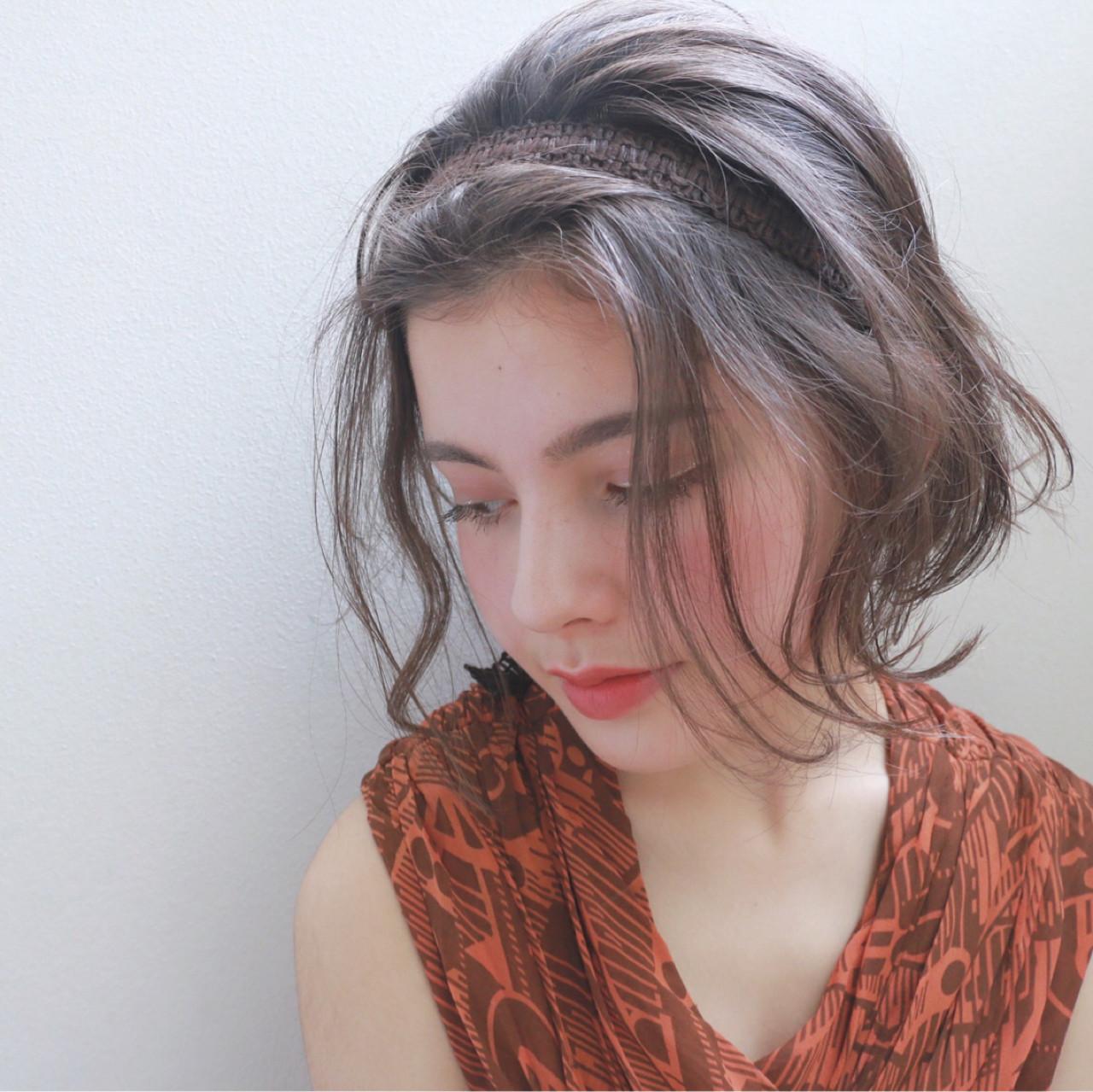 簡単ヘアアレンジ 外国人風 大人かわいい ヘアアレンジ ヘアスタイルや髪型の写真・画像