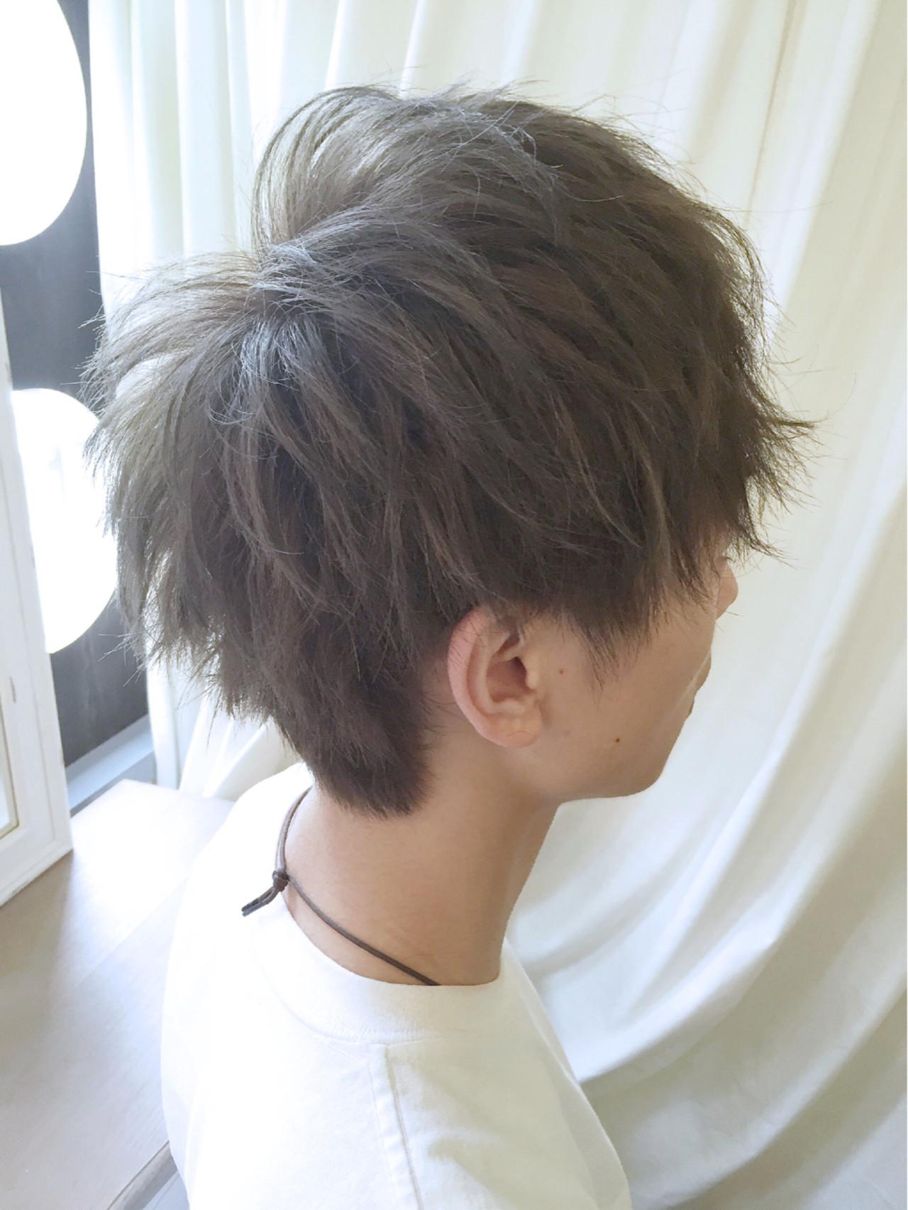 ナチュラル ボーイッシュ 刈り上げ ショート ヘアスタイルや髪型の写真・画像