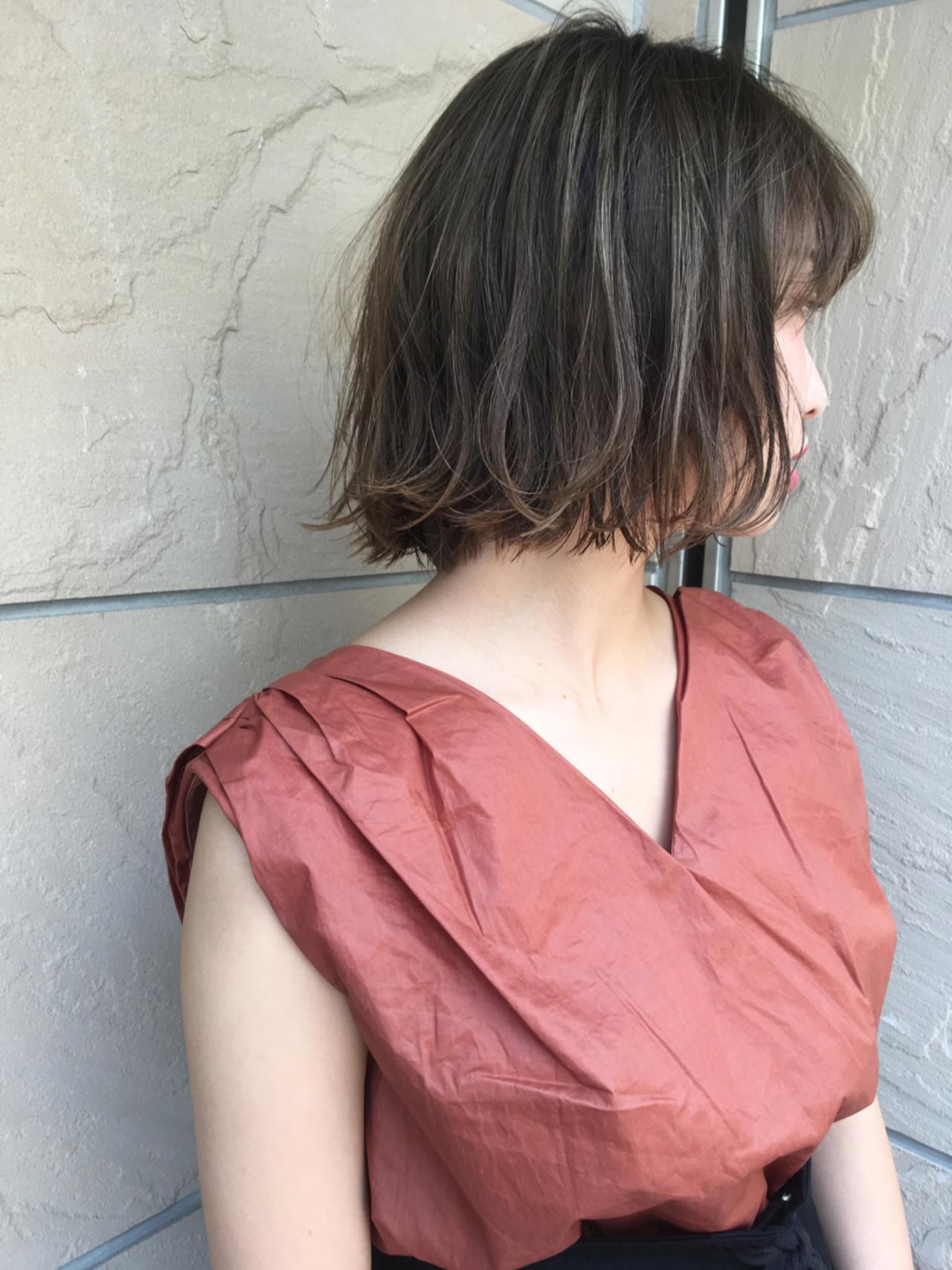 色気 ボブ 外国人風 デート ヘアスタイルや髪型の写真・画像