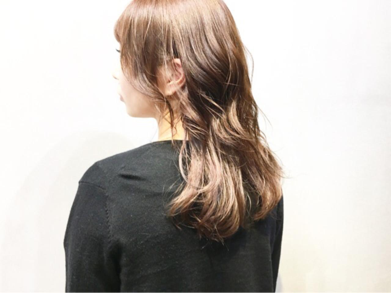ショコラブラウン アッシュグレー グレージュ ミディアム ヘアスタイルや髪型の写真・画像 | COM PASS タイチ / COM PASS