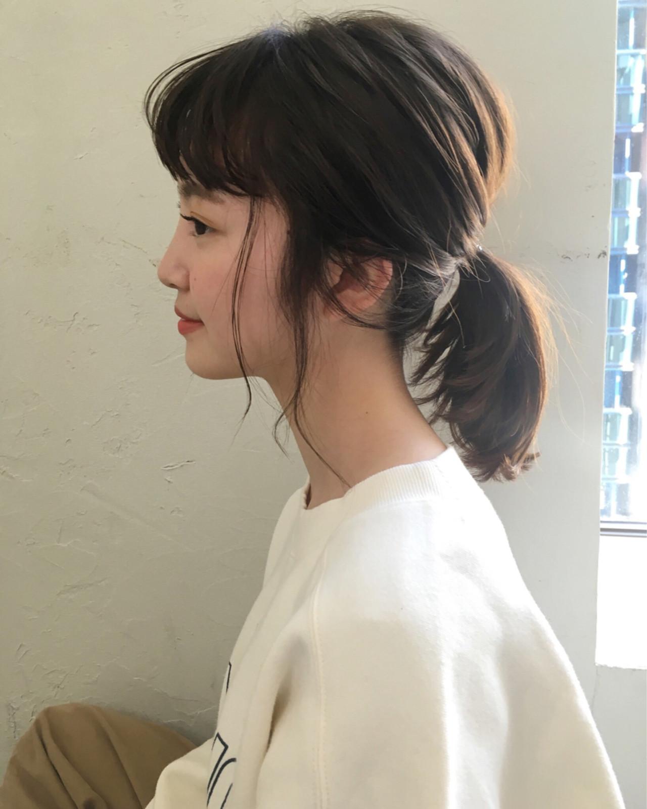 ナチュラル ミディアム ヘアスタイルや髪型の写真・画像   joemi by unami 森千里 / joemi by unami 新宿