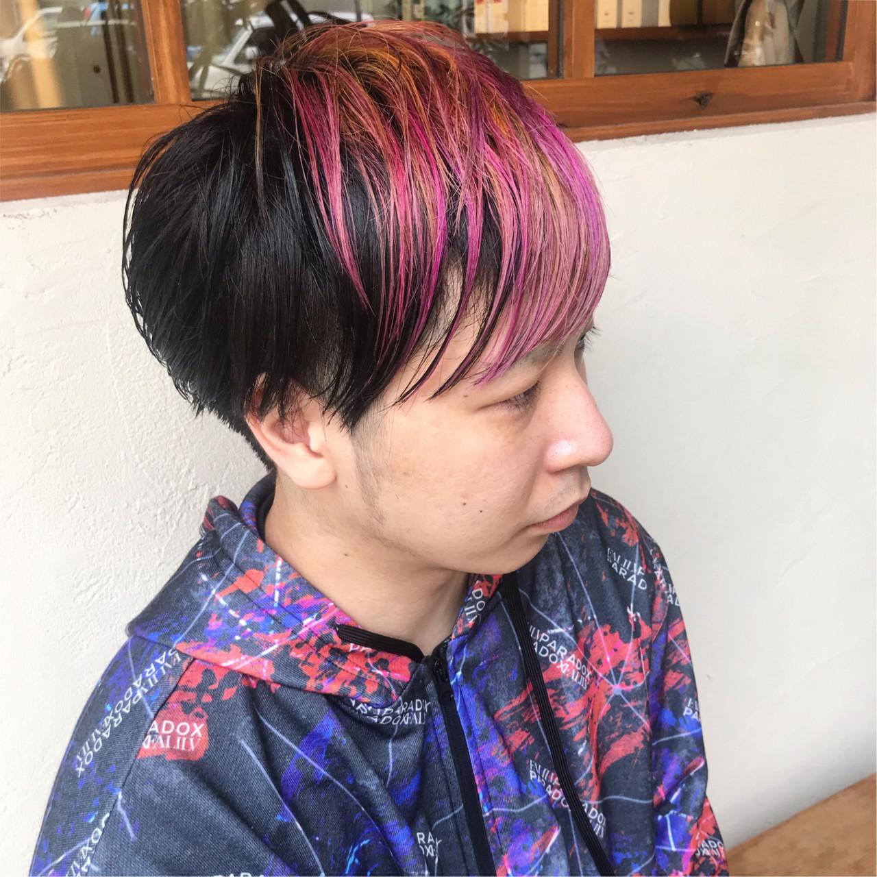 メンズスタイル メンズショート ショート ストリート ヘアスタイルや髪型の写真・画像   杉本あさか asa / buzz北堀江