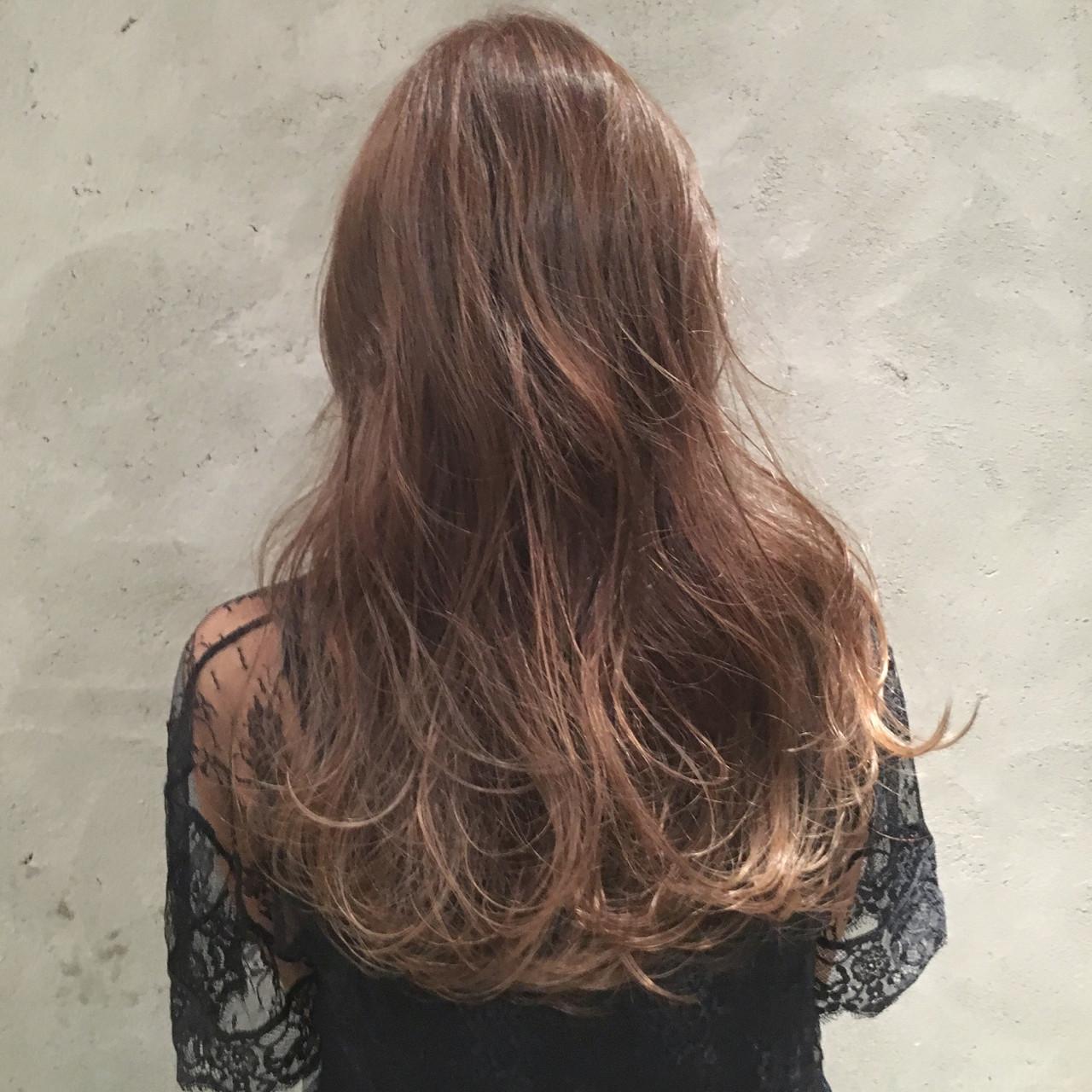 ハイライト 大人女子 外国人風 ストリート ヘアスタイルや髪型の写真・画像