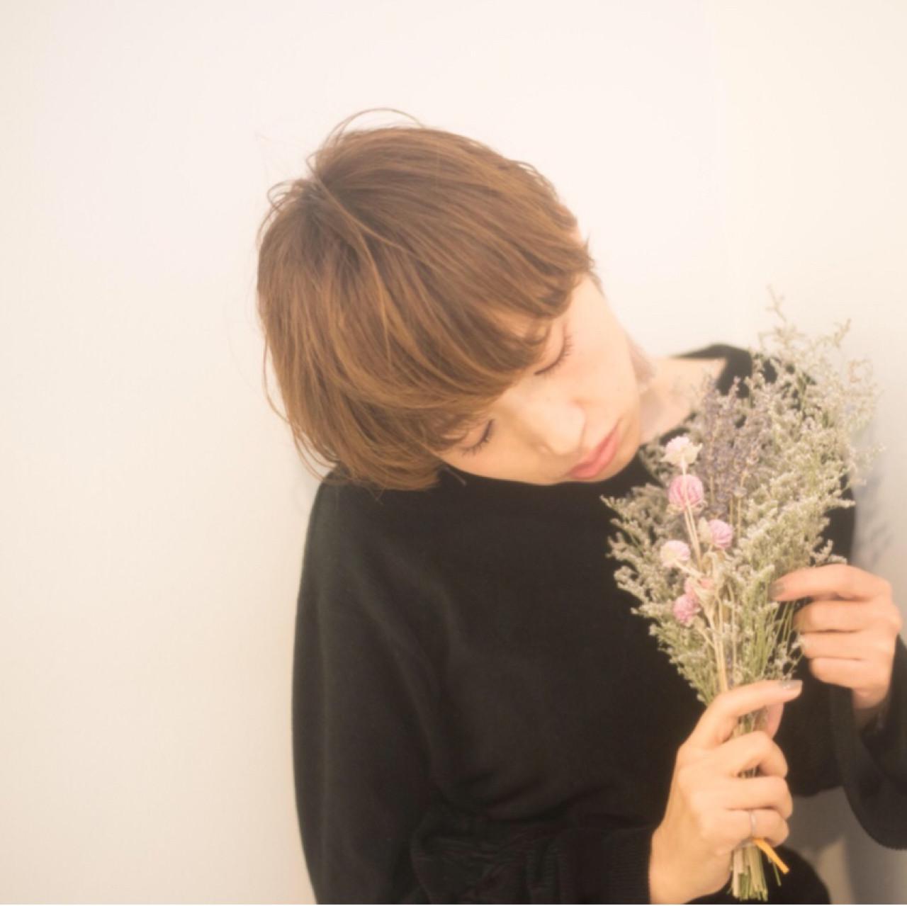 ナチュラル 大人女子 こなれ感 冬 ヘアスタイルや髪型の写真・画像 | yuunn /