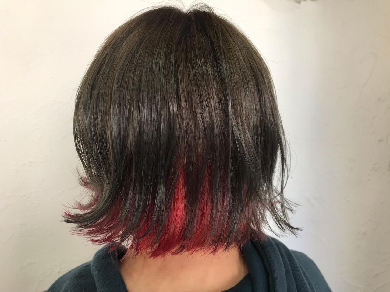 ヘアアレンジ ボブ アウトドア 簡単ヘアアレンジ ヘアスタイルや髪型の写真・画像 | YUUKI / RITA&CO.