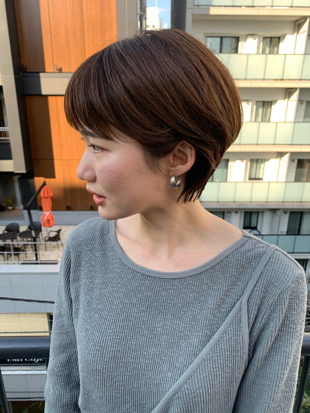 ショートヘア ショート ベリーショート ハンサムショート ヘアスタイルや髪型の写真・画像 | miya/@1031miya / フリーランス(XENA)