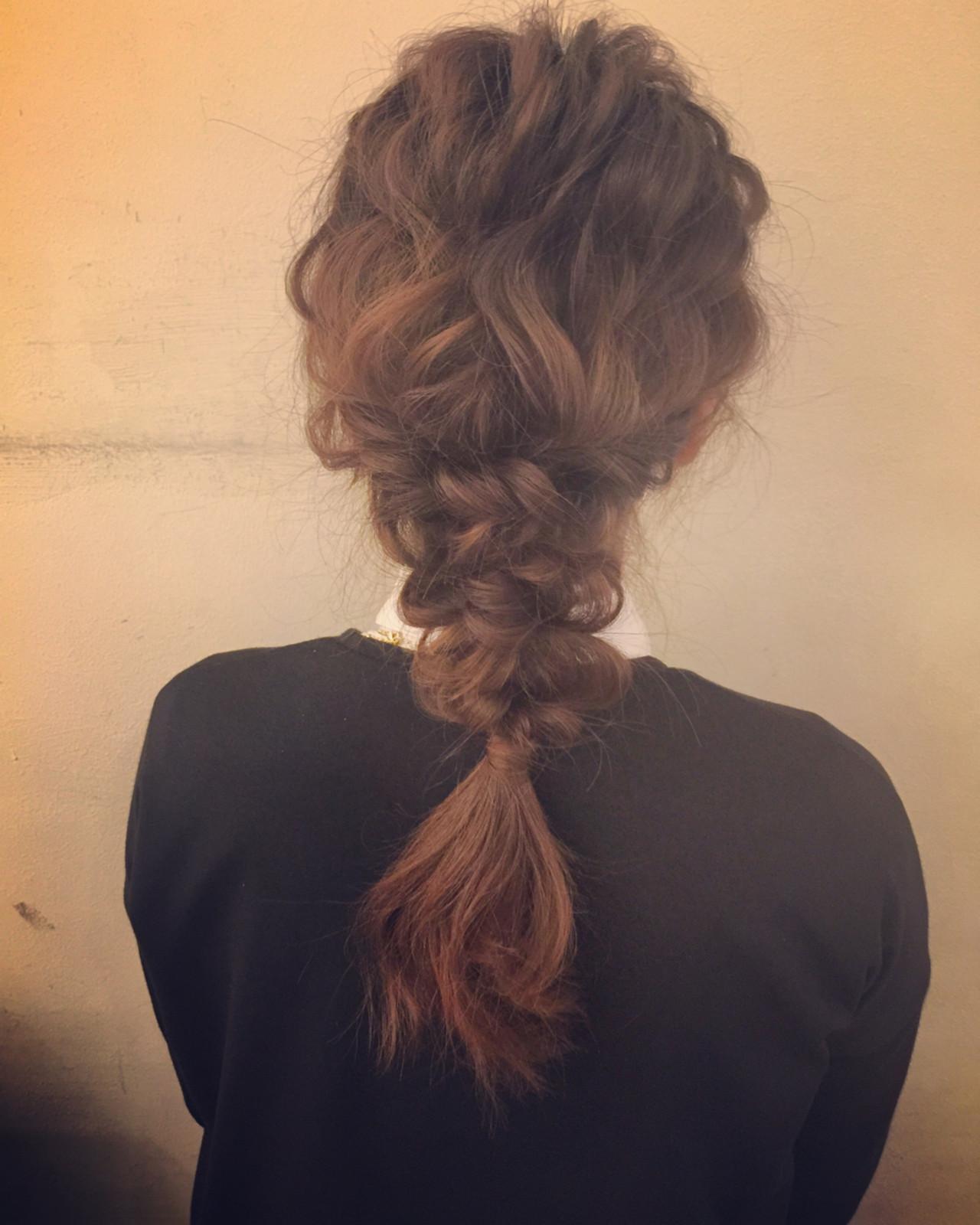フェミニン ヘアアレンジ ゆるふわ 大人かわいい ヘアスタイルや髪型の写真・画像