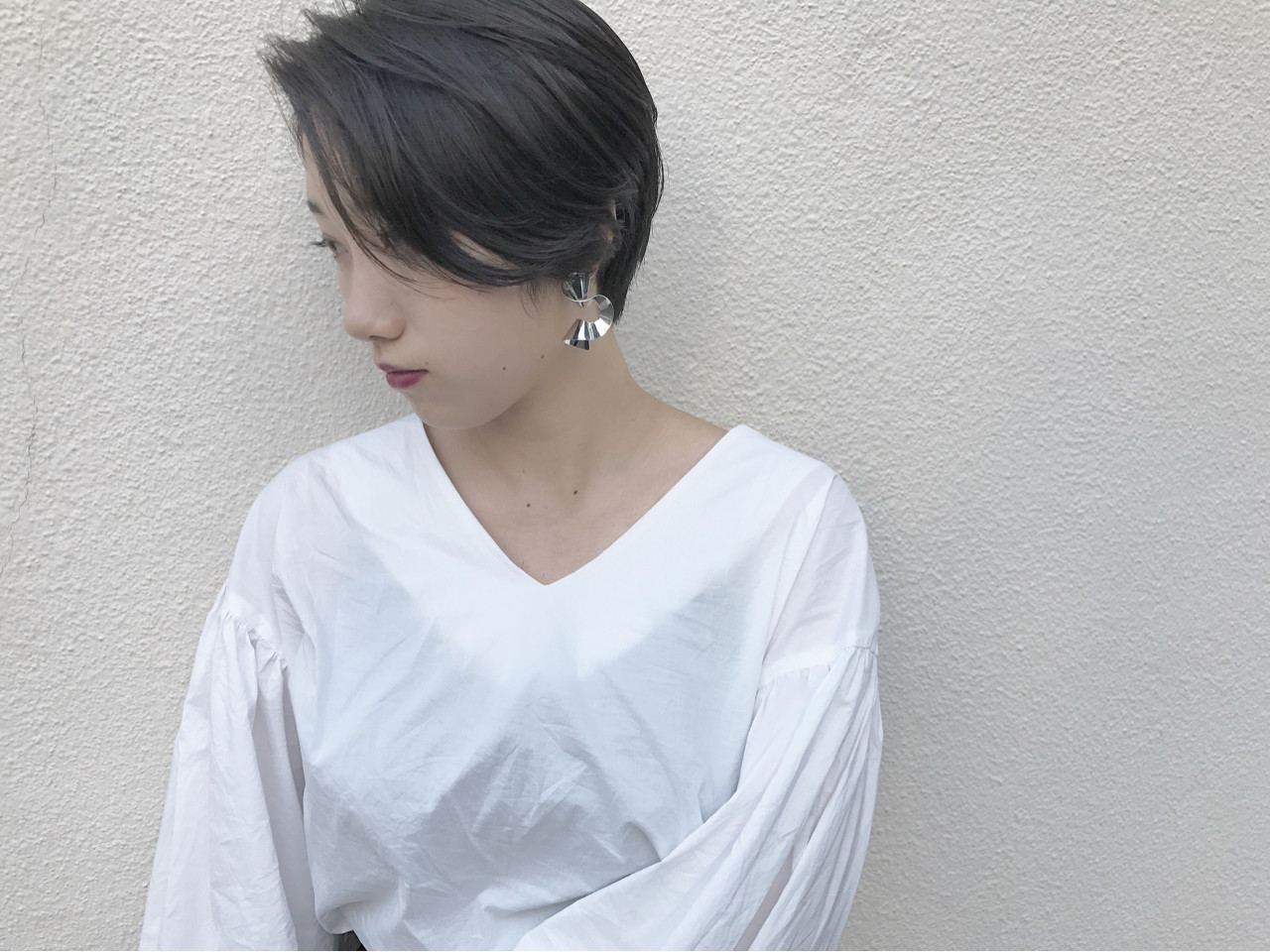 マッシュ ハイライト 秋 透明感 ヘアスタイルや髪型の写真・画像   KENTO.NOESALON / NOE SALON