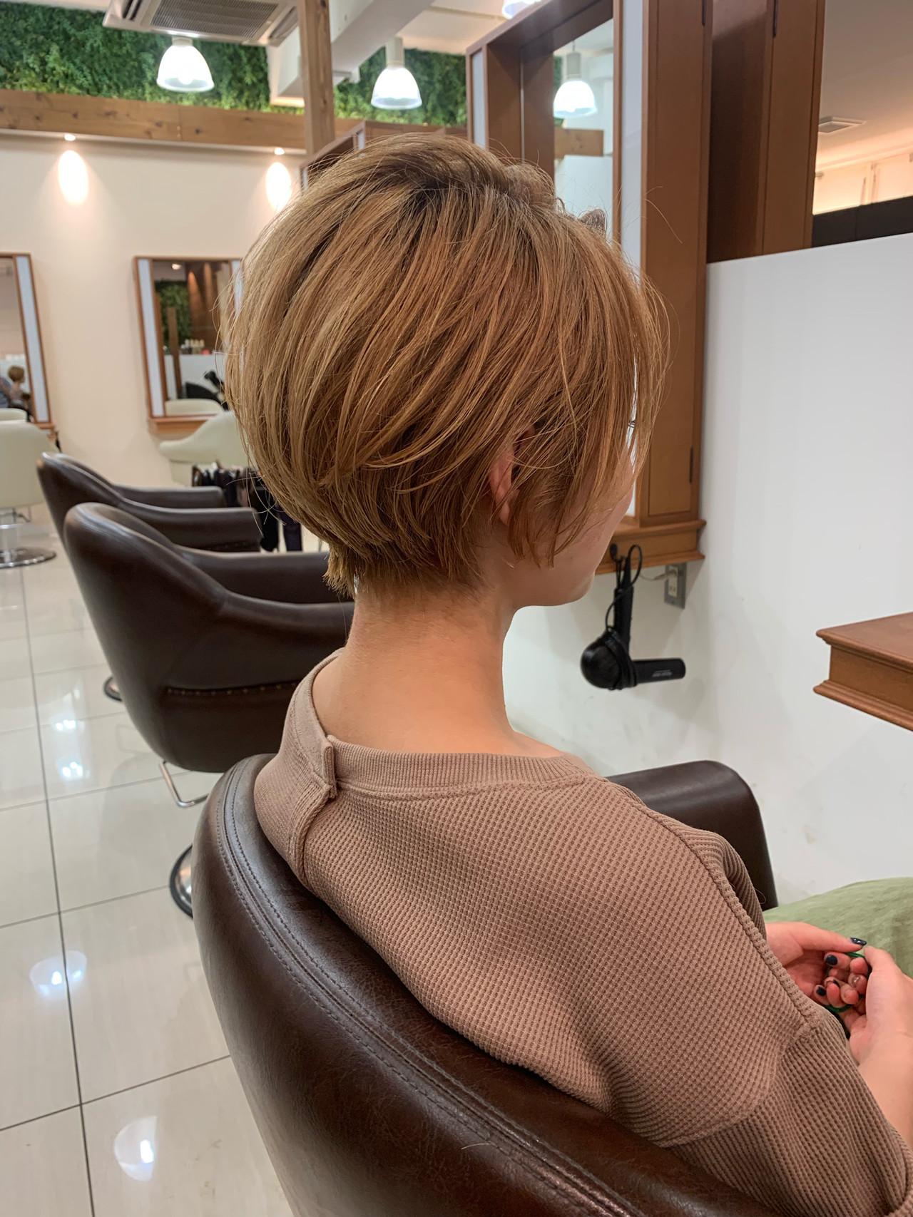 ショートヘア ショート 可愛い 大人可愛い ヘアスタイルや髪型の写真・画像 | 【つくば美容師】ショートヘア愛好家/矢崎 翔太 / ジールサロン
