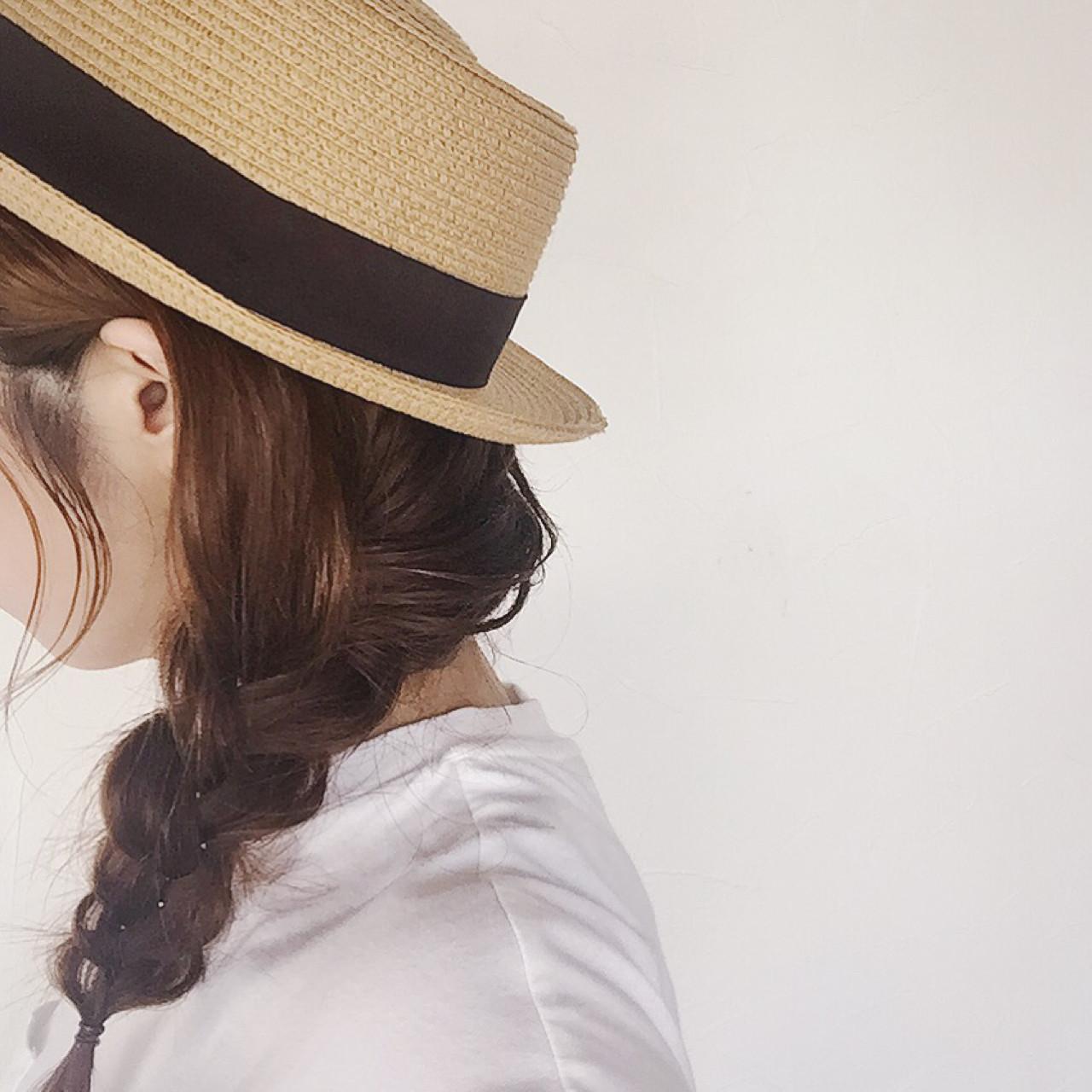 ガーリー ゆるふわ セミロング 簡単ヘアアレンジ ヘアスタイルや髪型の写真・画像   大西未紗 / HAIR LEAP