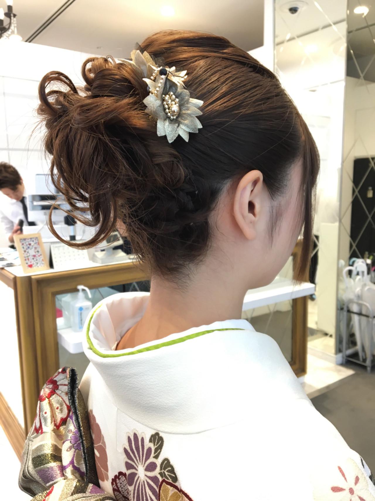 ヘアアレンジ 簡単ヘアアレンジ ハーフアップ 大人女子 ヘアスタイルや髪型の写真・画像 | 岩田 芳郎 / Ash 渋谷