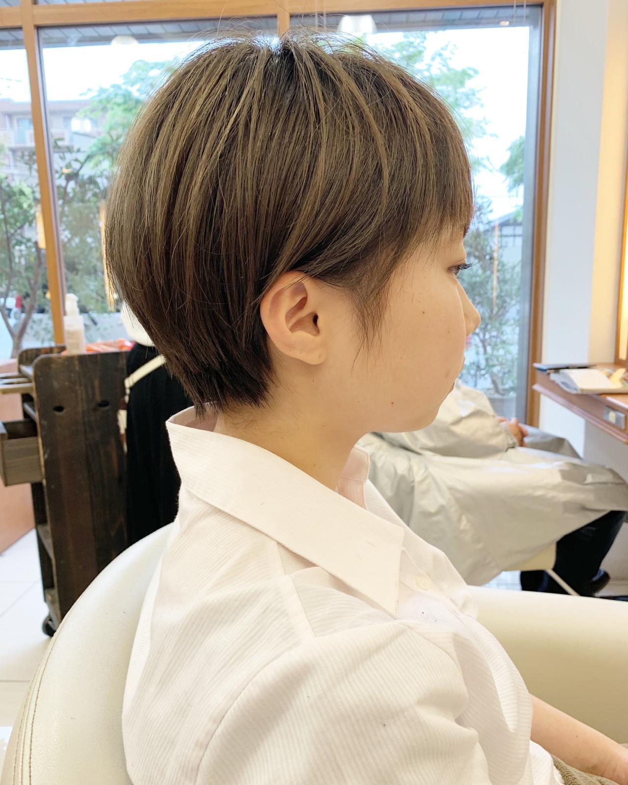 ふんわりショート  可愛い ハンサムショート ヘアスタイルや髪型の写真・画像 | 【つくば美容師】ショートヘア愛好家/矢崎 翔太 / ジールサロン