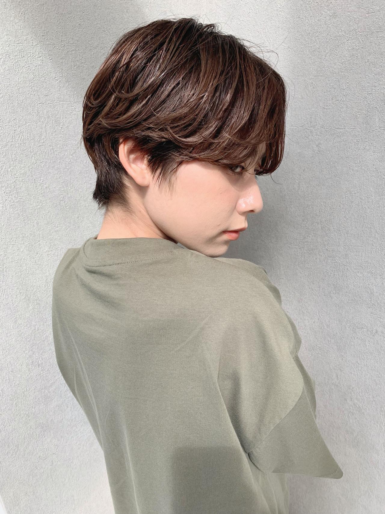 ショート エレガント ヘアアレンジ 簡単ヘアアレンジ ヘアスタイルや髪型の写真・画像 | 石田浩之 / lano by hair