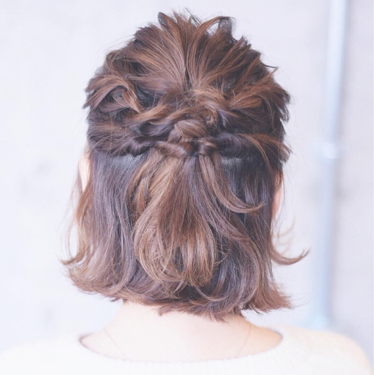 ヘアアレンジ 結婚式 こなれ感 大人女子 ヘアスタイルや髪型の写真・画像
