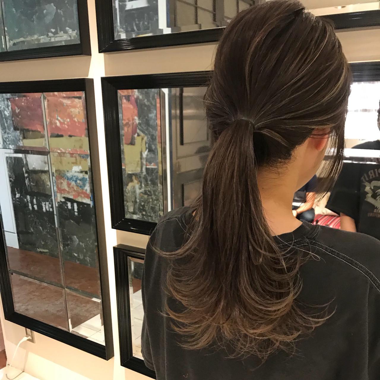 大人かわいい アウトドア ナチュラル ヘアアレンジ ヘアスタイルや髪型の写真・画像   yumiko/sapporoSKNOW / SKNOW