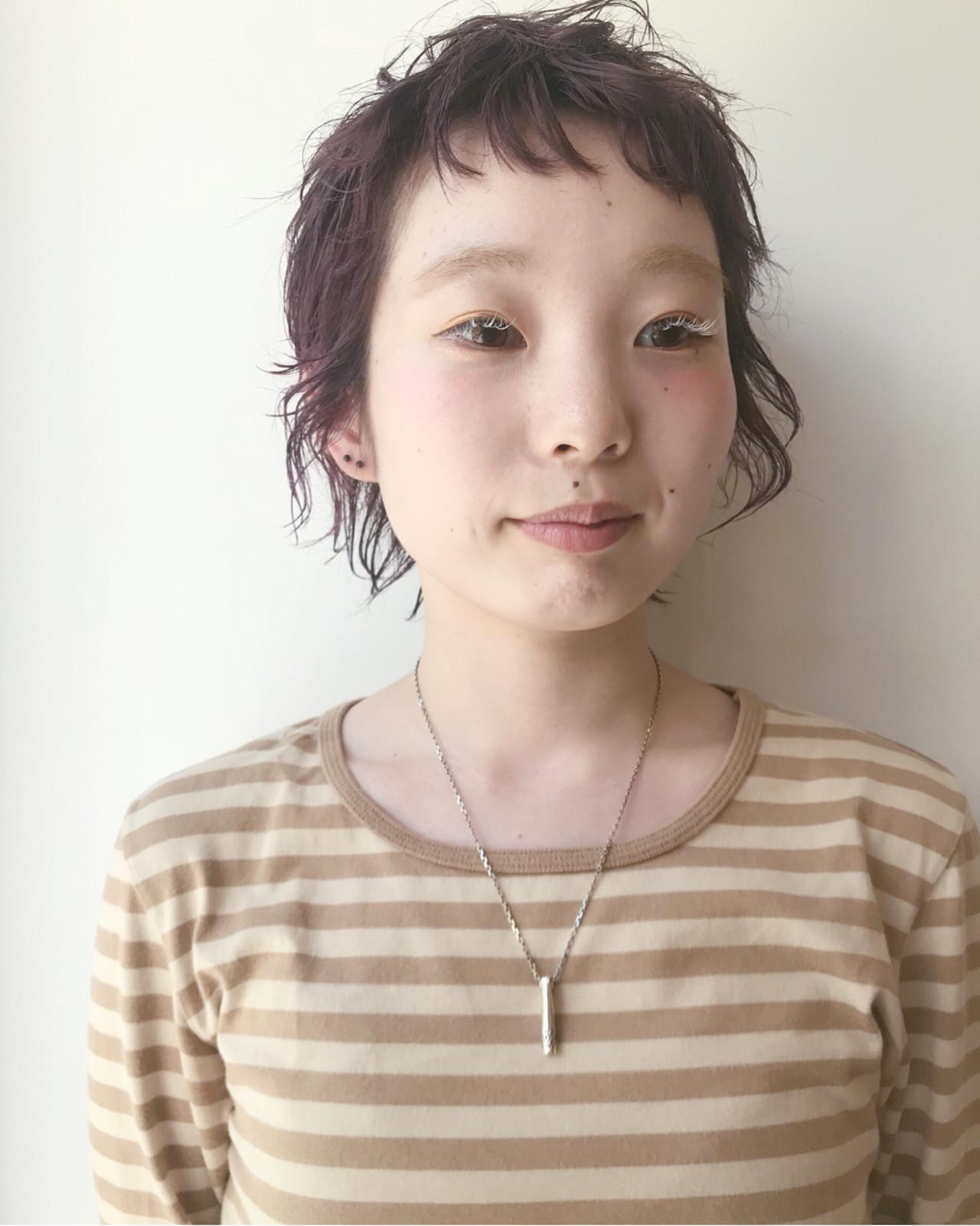 ショート ストリート マッシュ ウルフカット ヘアスタイルや髪型の写真・画像 | 仙頭郁弥 / LIM+LIM