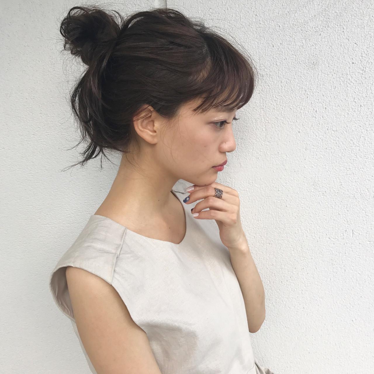 結婚式 ミディアム ナチュラル 秋 ヘアスタイルや髪型の写真・画像 | 佐々木拓巳 / GARDEN harajuku