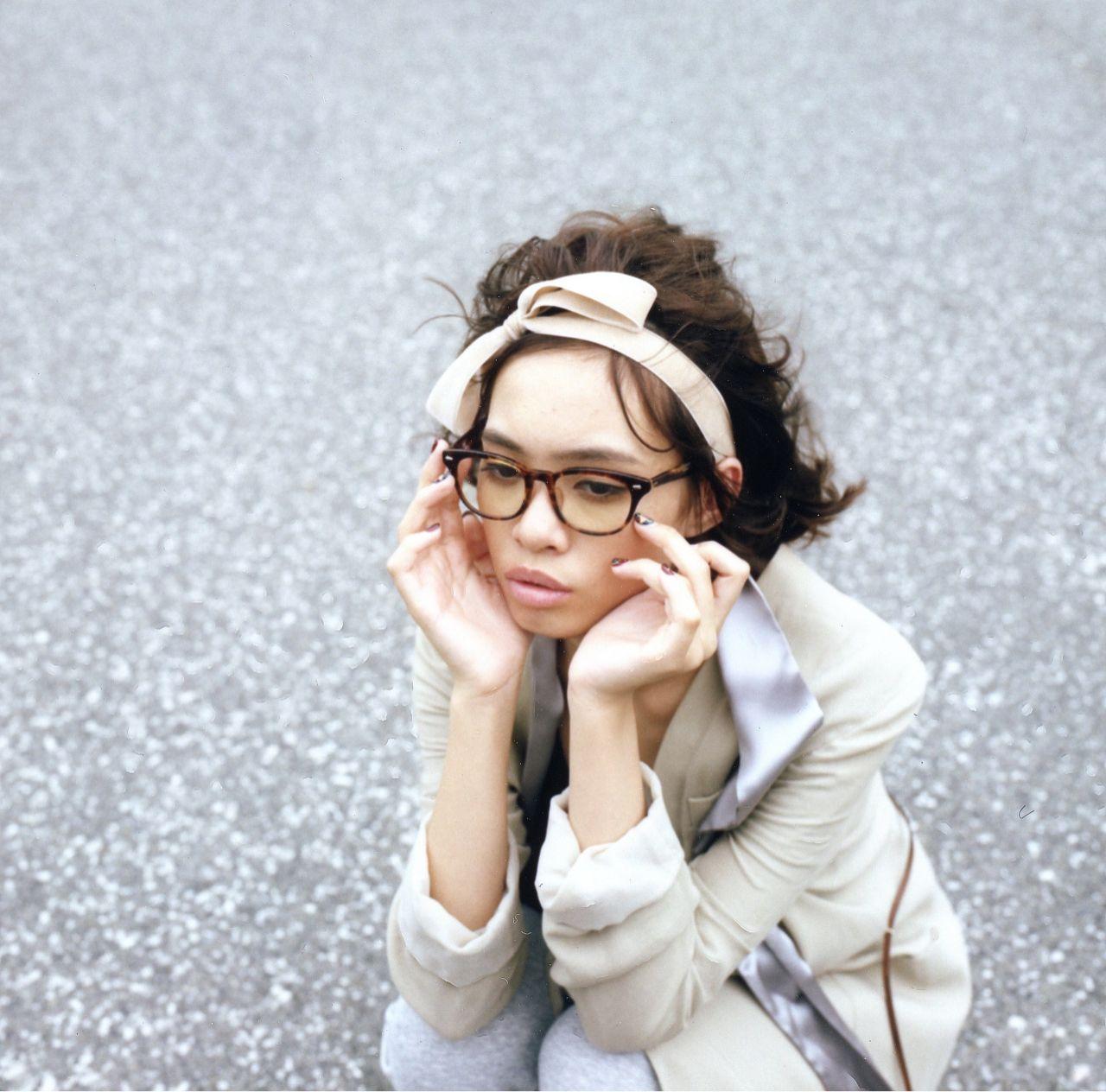 ショート 黒髪 ストリート カチューシャ ヘアスタイルや髪型の写真・画像 | 菅沼 貴紘 / RITZ daikanyama