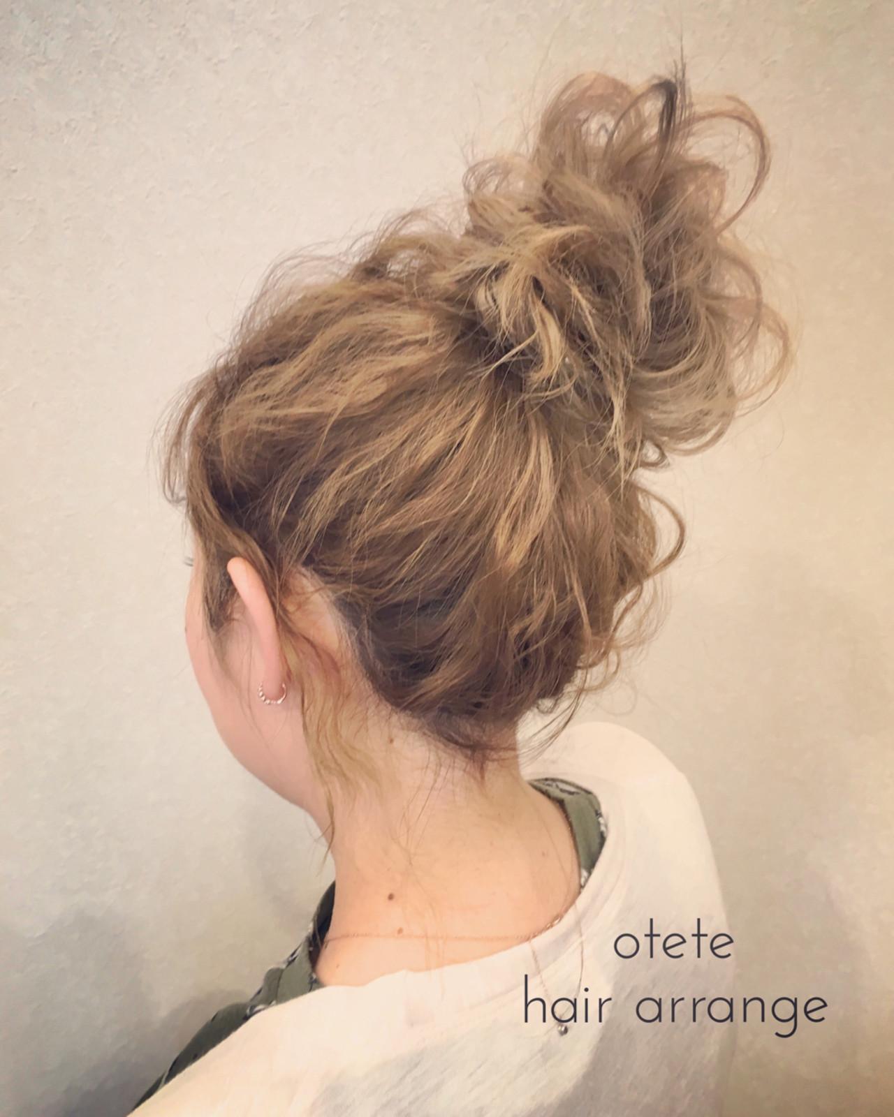 ウェーブ セミロング ヘアアレンジ 結婚式 ヘアスタイルや髪型の写真・画像