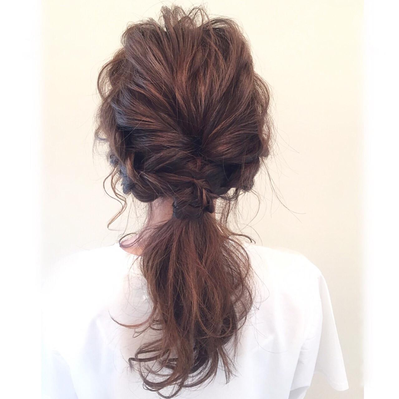 大人女子 ハーフアップ ヘアアレンジ 簡単ヘアアレンジ ヘアスタイルや髪型の写真・画像