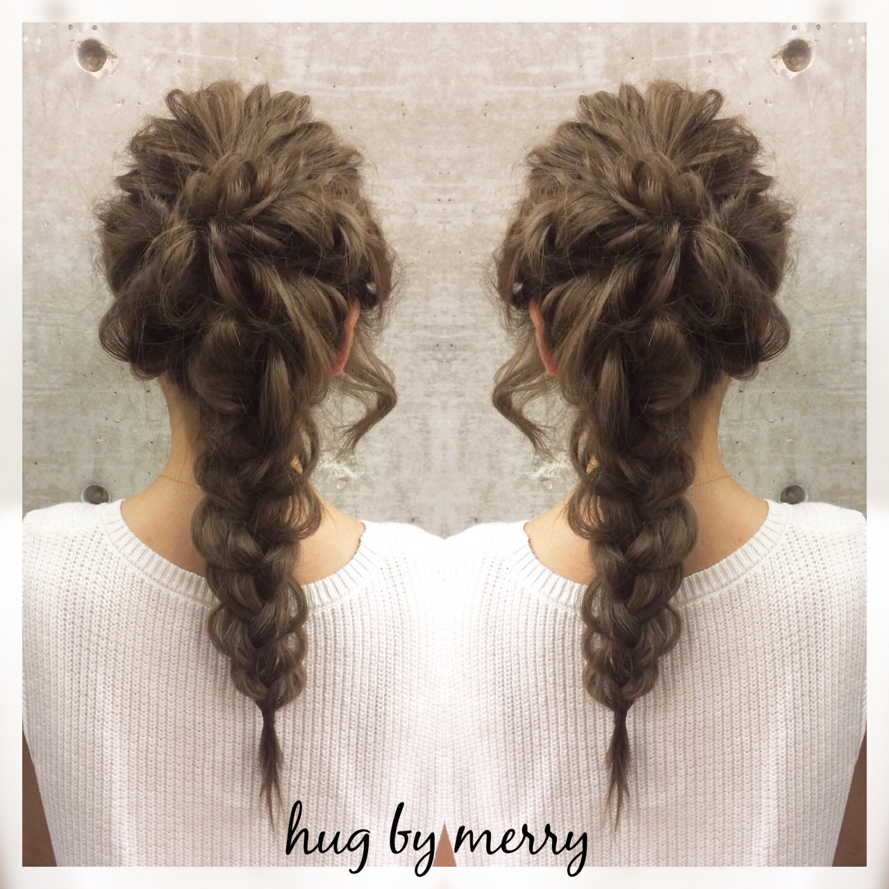 簡単ヘアアレンジ ロング ゆるふわ ショート ヘアスタイルや髪型の写真・画像