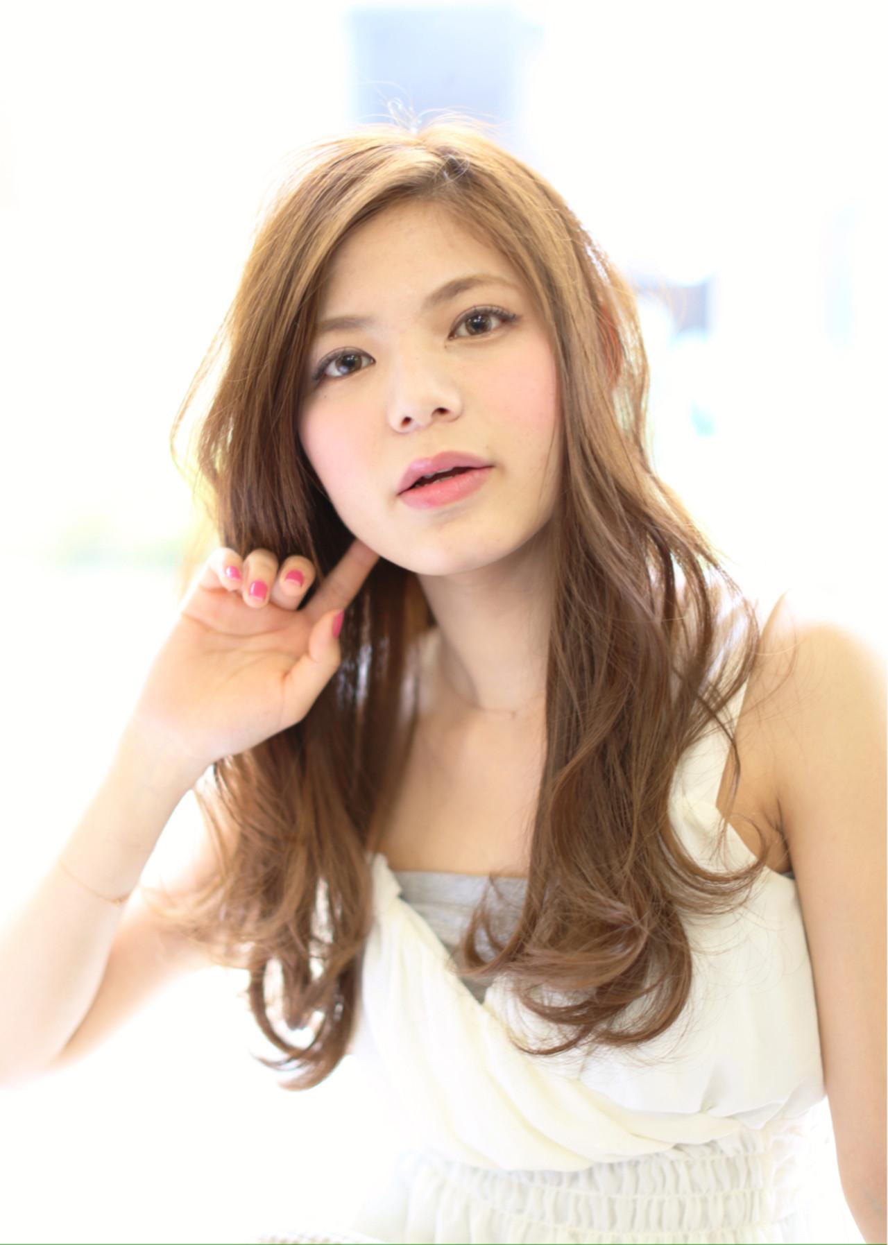 愛され ゆるふわ フェミニン 大人かわいい ヘアスタイルや髪型の写真・画像
