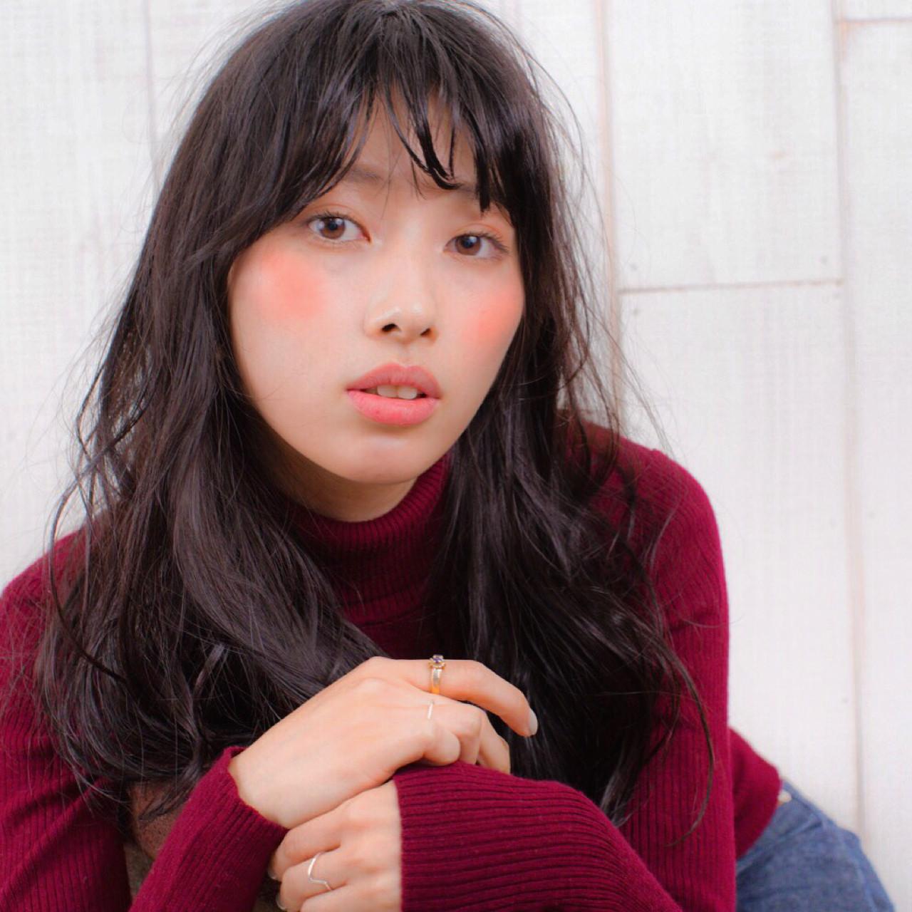 グラデーションカラー ナチュラル ロング 外国人風 ヘアスタイルや髪型の写真・画像   hassy_marianne / marianne