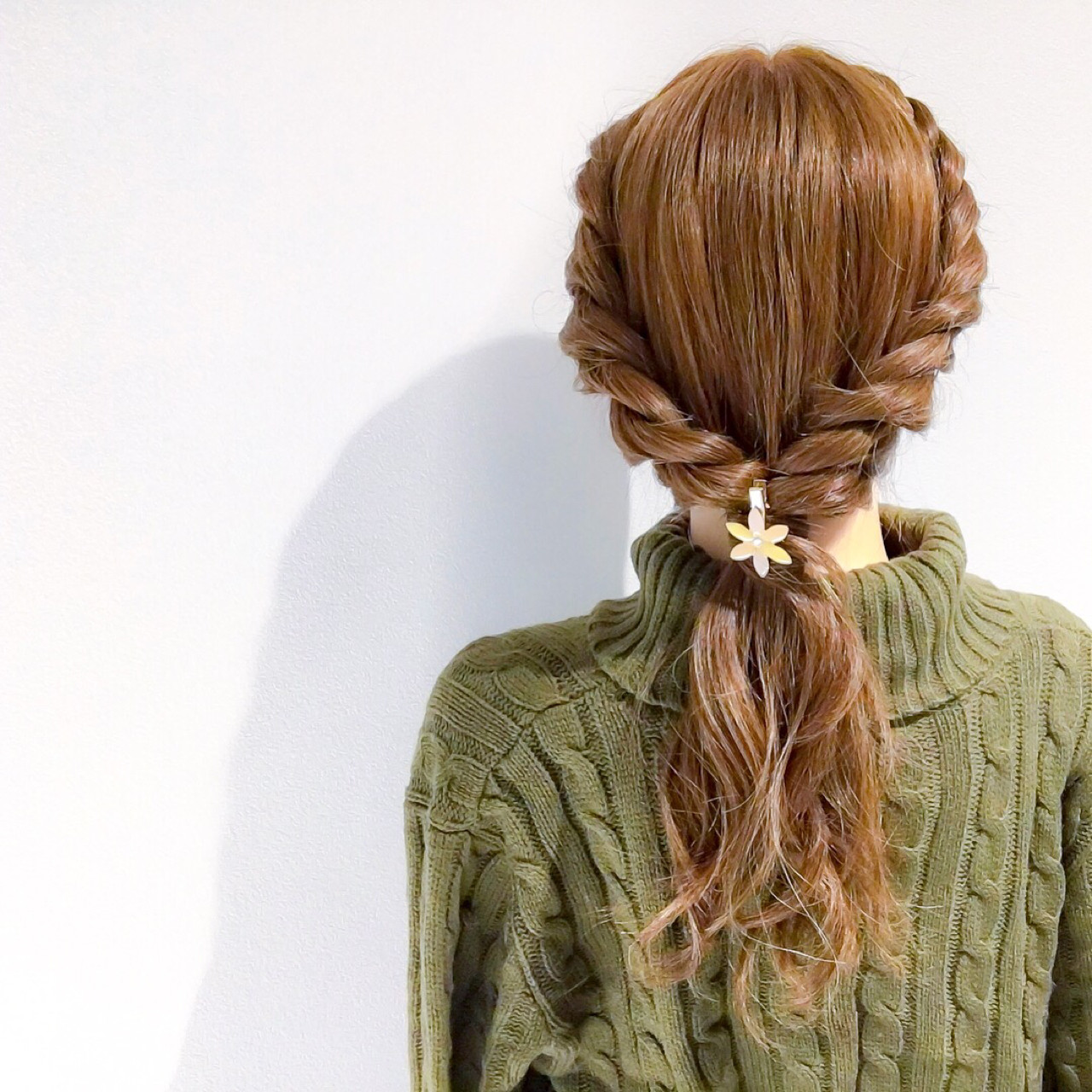 アウトドア デート ヘアアレンジ フェミニン ヘアスタイルや髪型の写真・画像