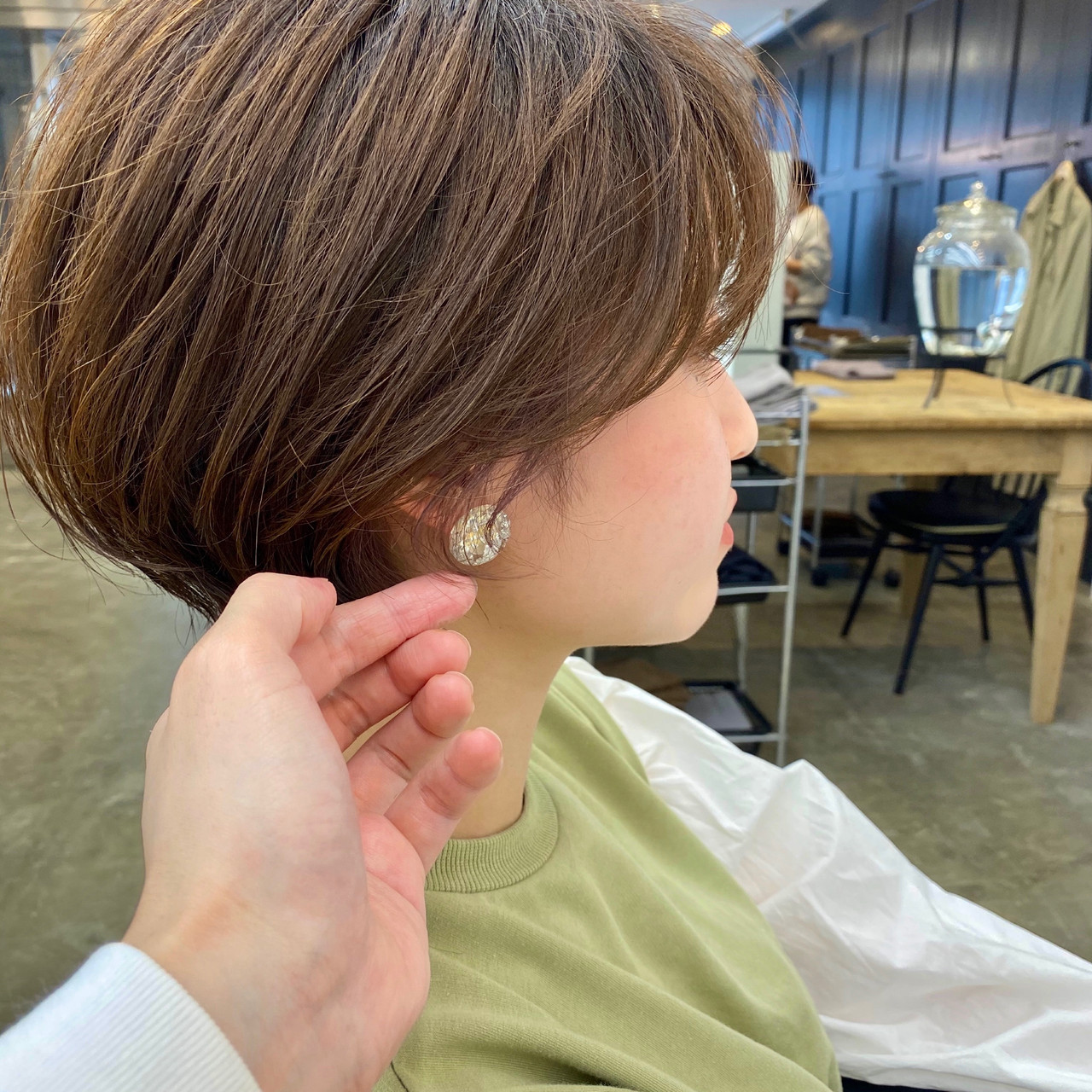 ショートヘア ショート ショートボブ アンニュイ ヘアスタイルや髪型の写真・画像 | 【ショート&ショートボブはお任せください】淺川聖 / parc sapporo