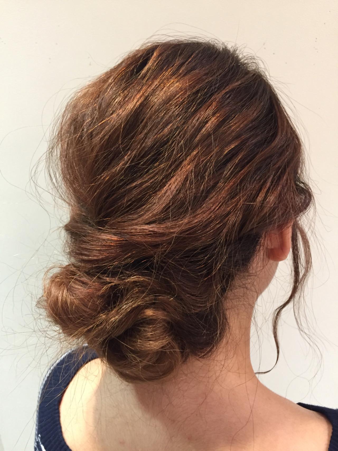 結婚式 エレガント 上品 ロング ヘアスタイルや髪型の写真・画像