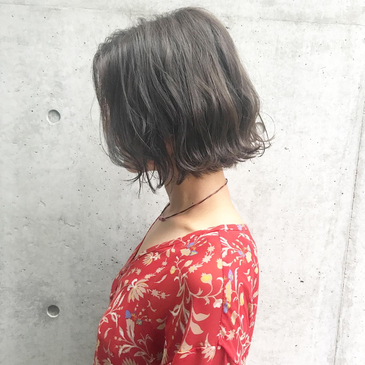 結婚式 ナチュラル ボブ アンニュイほつれヘア ヘアスタイルや髪型の写真・画像 | 高田 興 / レジーロ