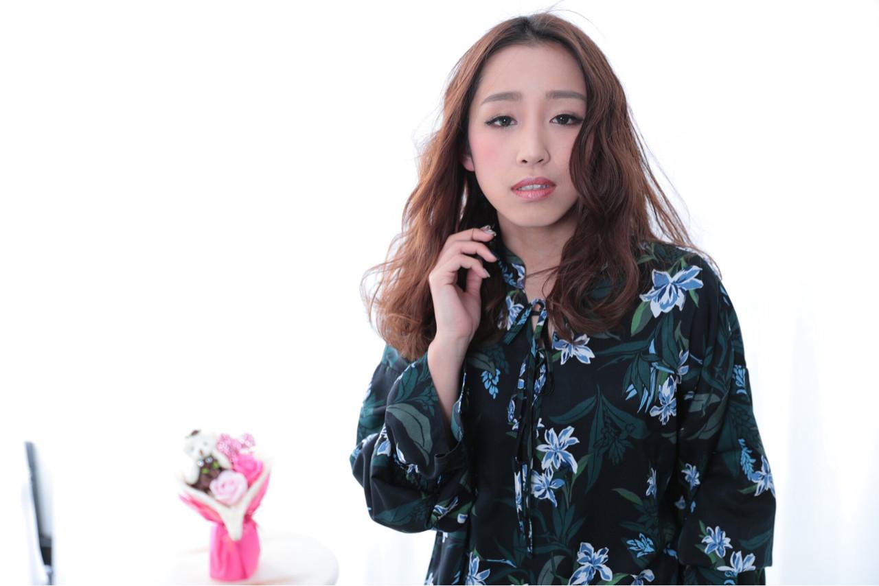 かっこいい ロング かわいい 大人女子 ヘアスタイルや髪型の写真・画像 | 三田村綾香 /