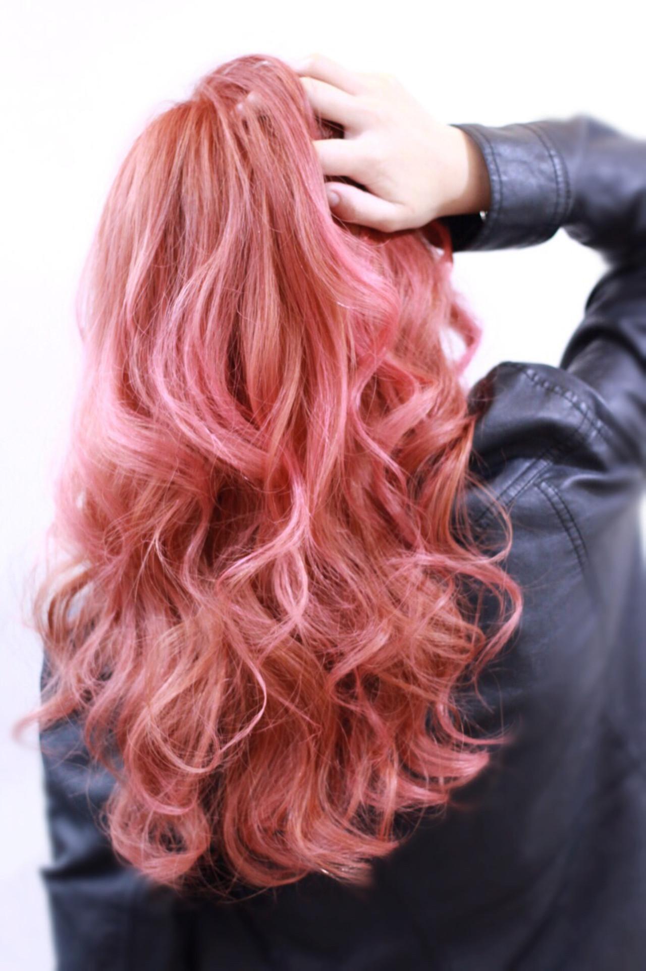 ゆるふわ 外国人風 渋谷系 レッド ヘアスタイルや髪型の写真・画像 | Director AKI☆ / hairTRUTH
