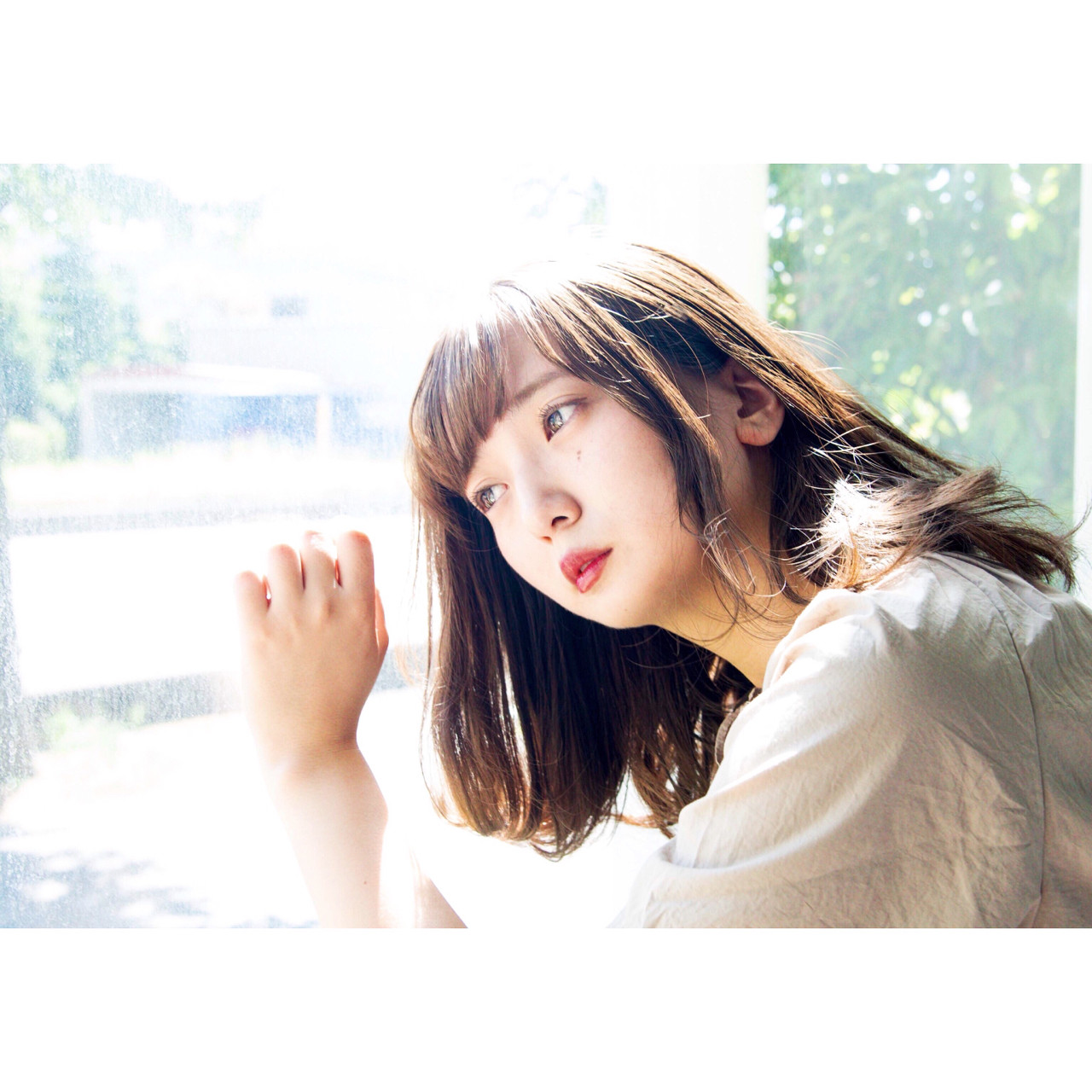 ヘアアレンジ 大人かわいい 夏 外国人風カラー ヘアスタイルや髪型の写真・画像 | ニシモリ ショウヘイ / 583koyomi