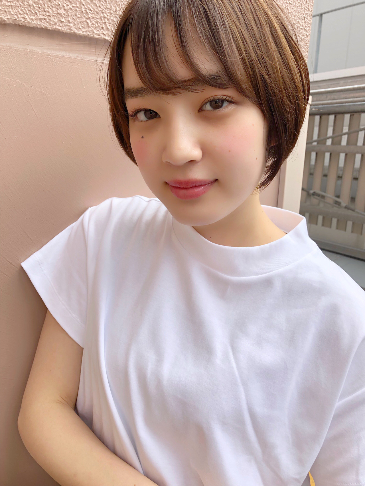 パーマ ナチュラル オフィス 簡単ヘアアレンジ ヘアスタイルや髪型の写真・画像 | ナガヤ アキラ joemi 新宿 / joemi by Un ami